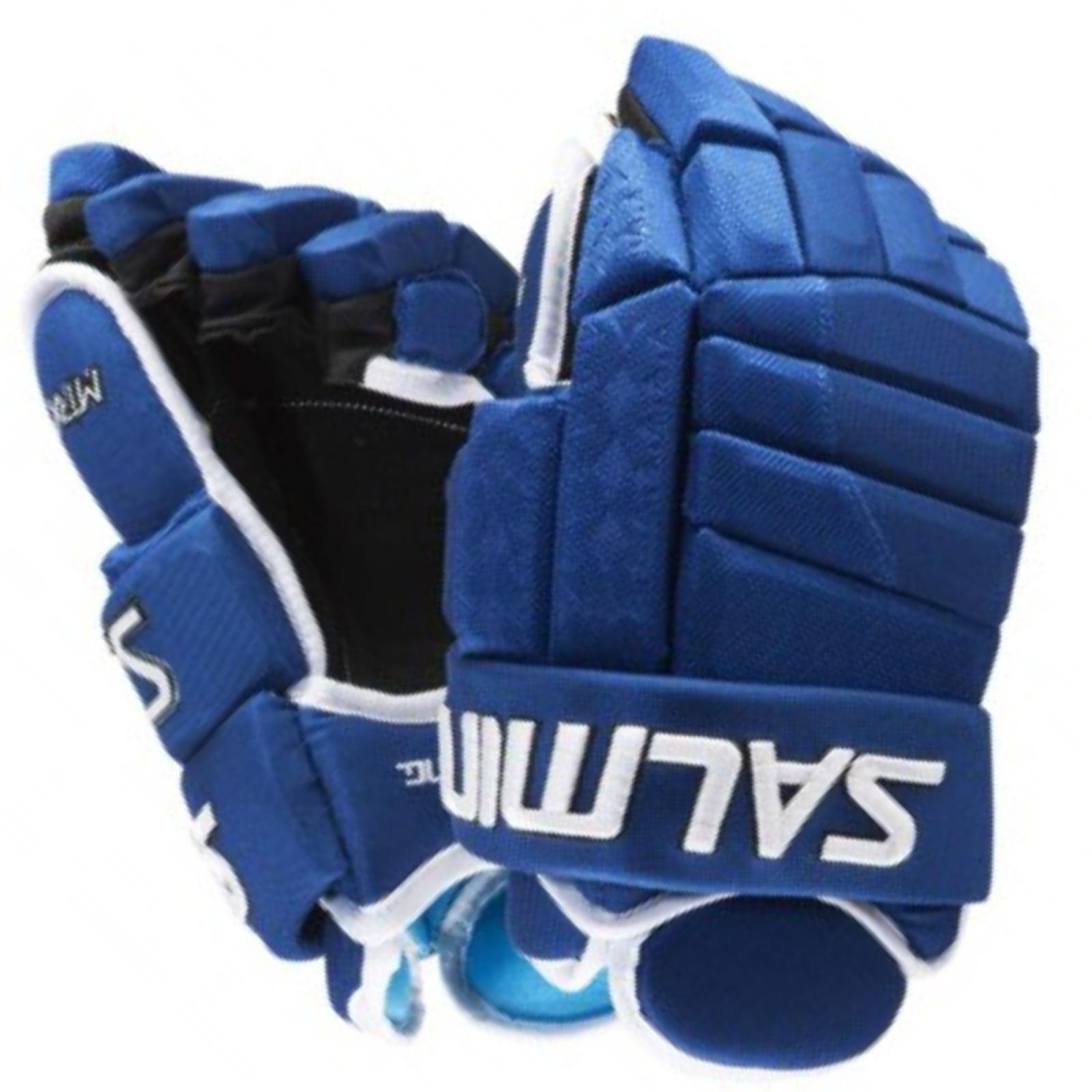 """Hokejové rukavice SALMING MTRX 21 modré - vel. 14"""""""