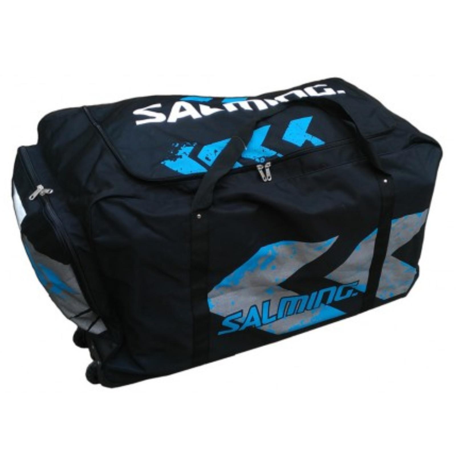 Hokejová taška SALMING Wheelbag MTRX Goalie 400L - černá