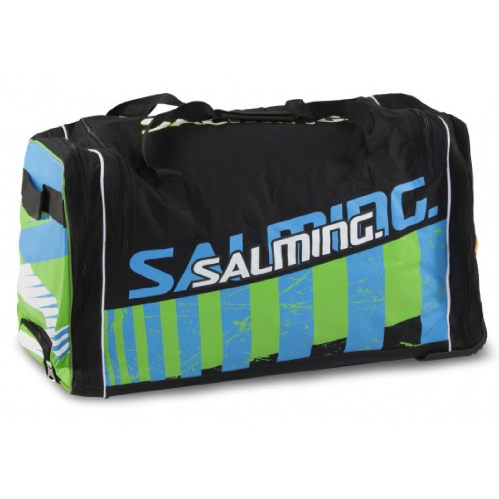 Hokejová taška SALMING Wheelbag INK, 120L-28, junior - černá