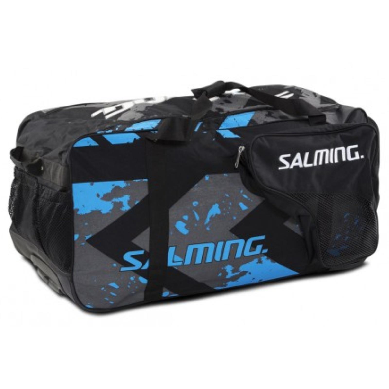 Hokejová taška SALMING Wheelbag MTRX, 130L-32, junior - černá
