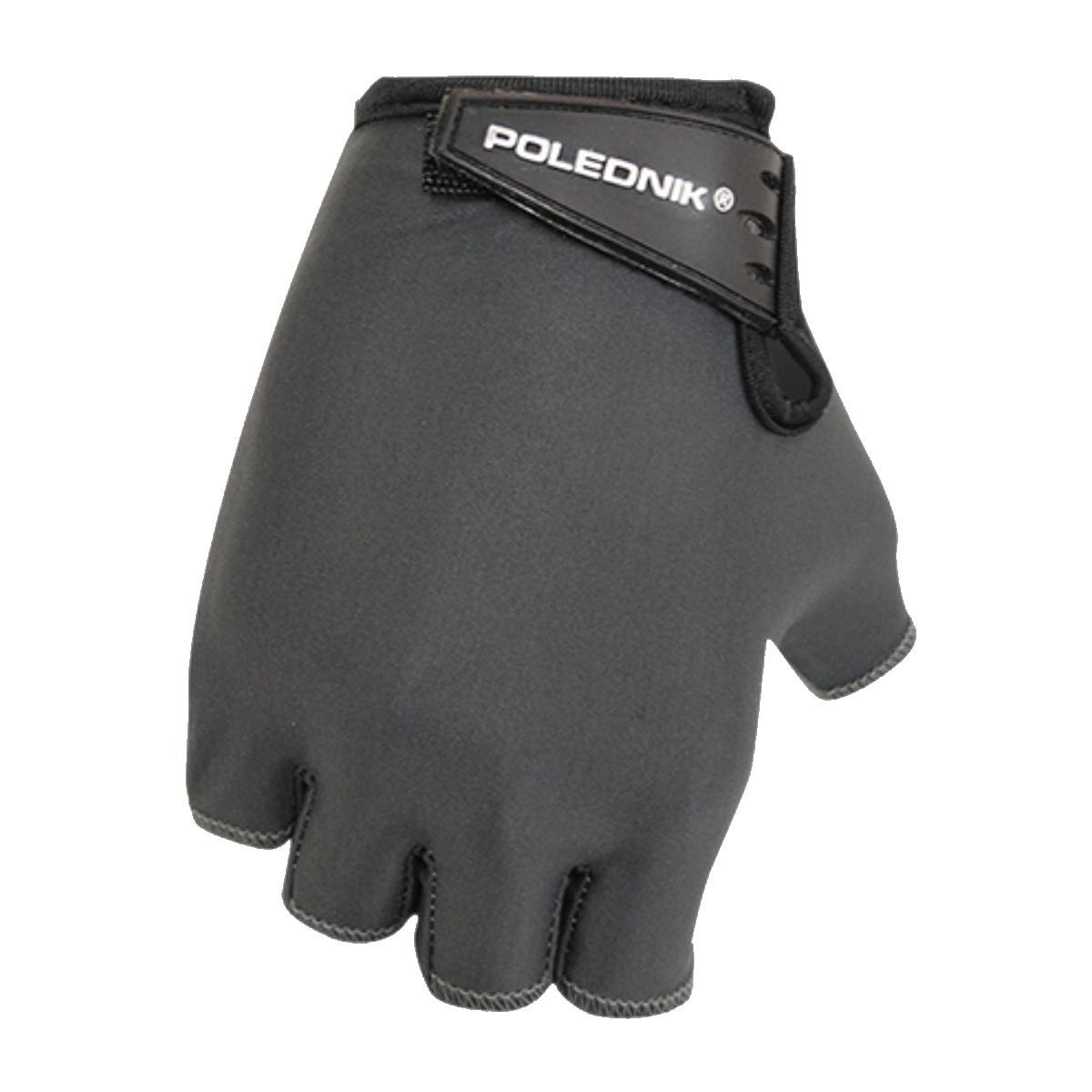 Cyklo rukavice POLEDNIK Basic dětské vel. 4 - černé