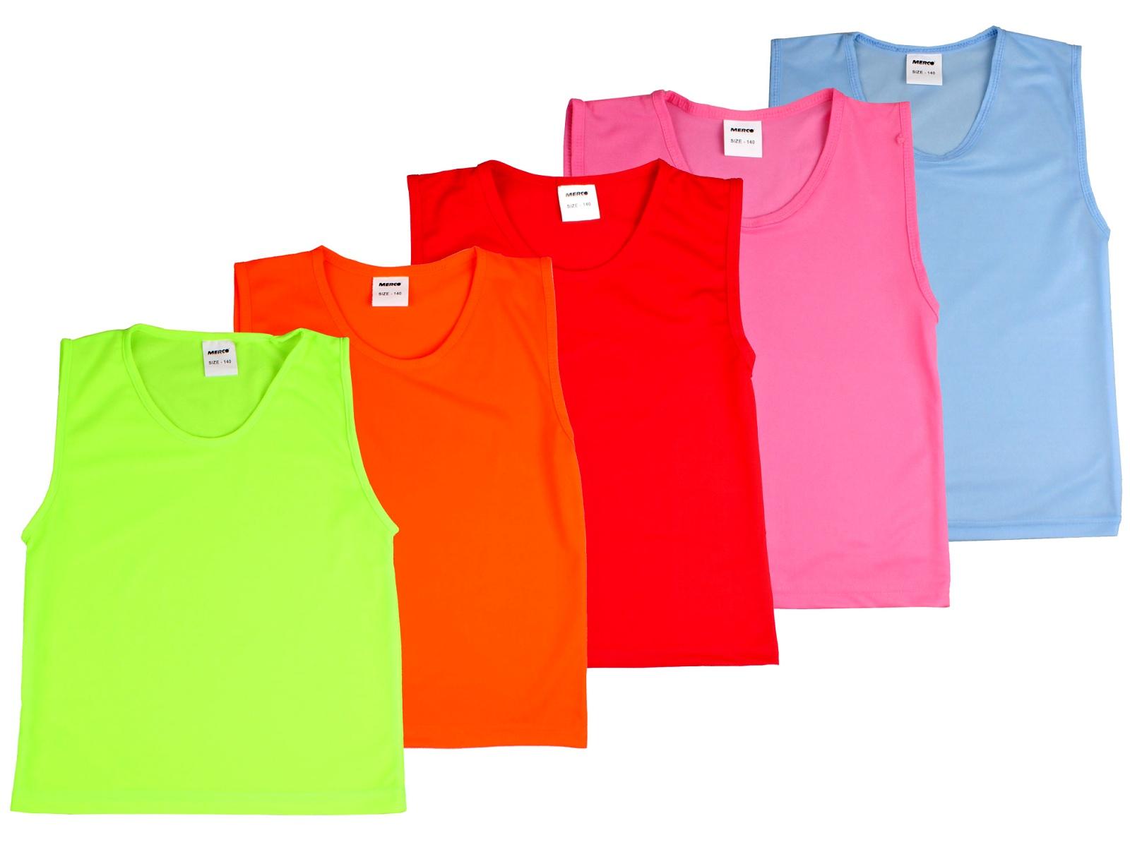 Rozlišovací dres MERCO Premium růžový - vel. 128