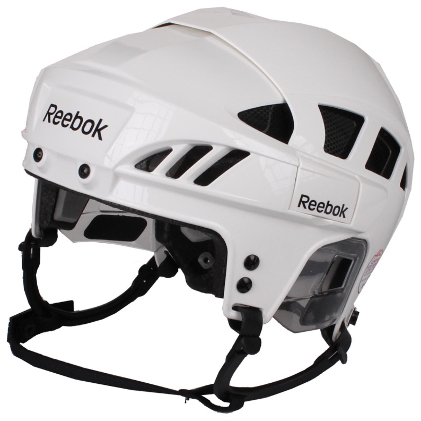 Hokejová helma REEBOK 7K bílá - vel. S