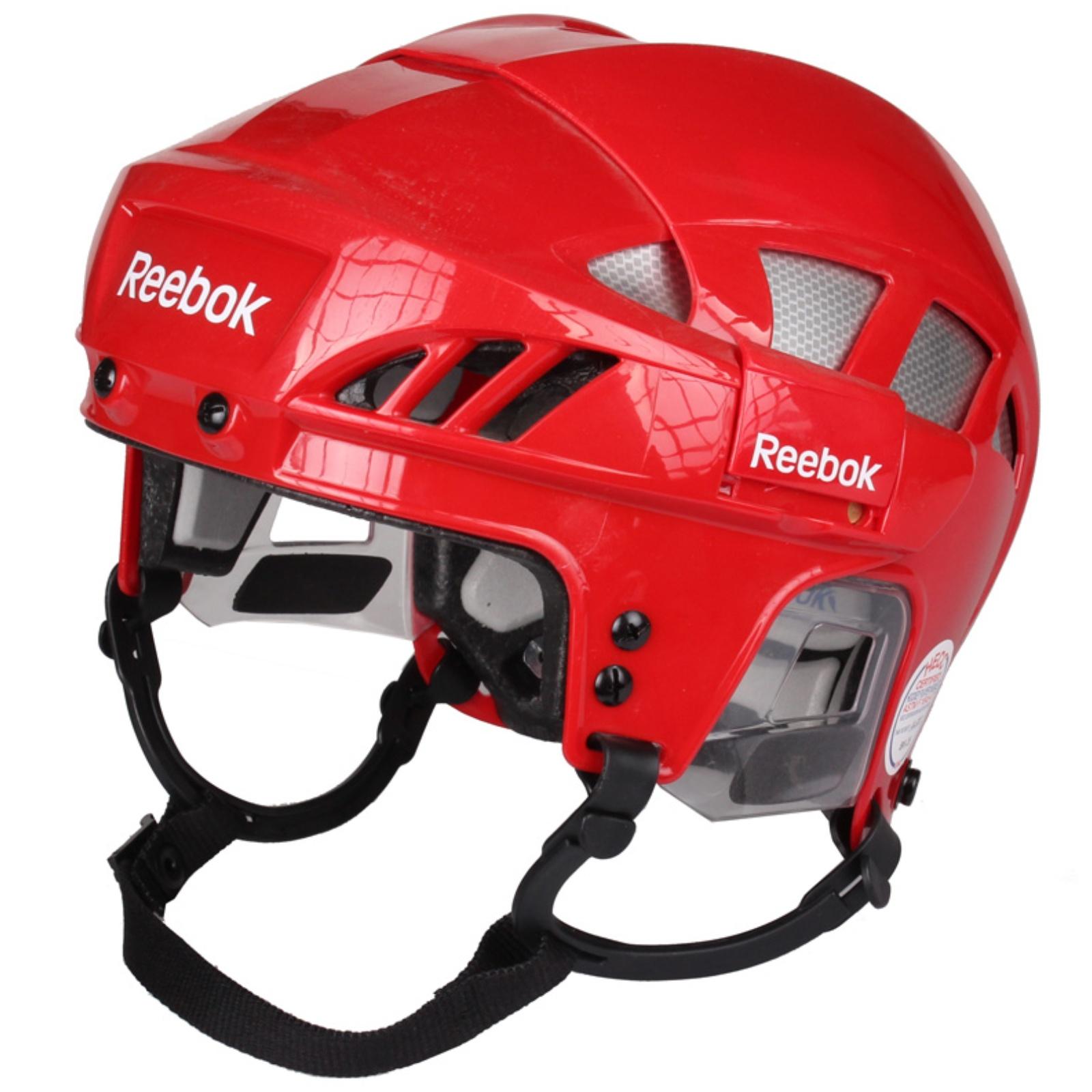 Hokejová helma REEBOK 7K červená - vel. M