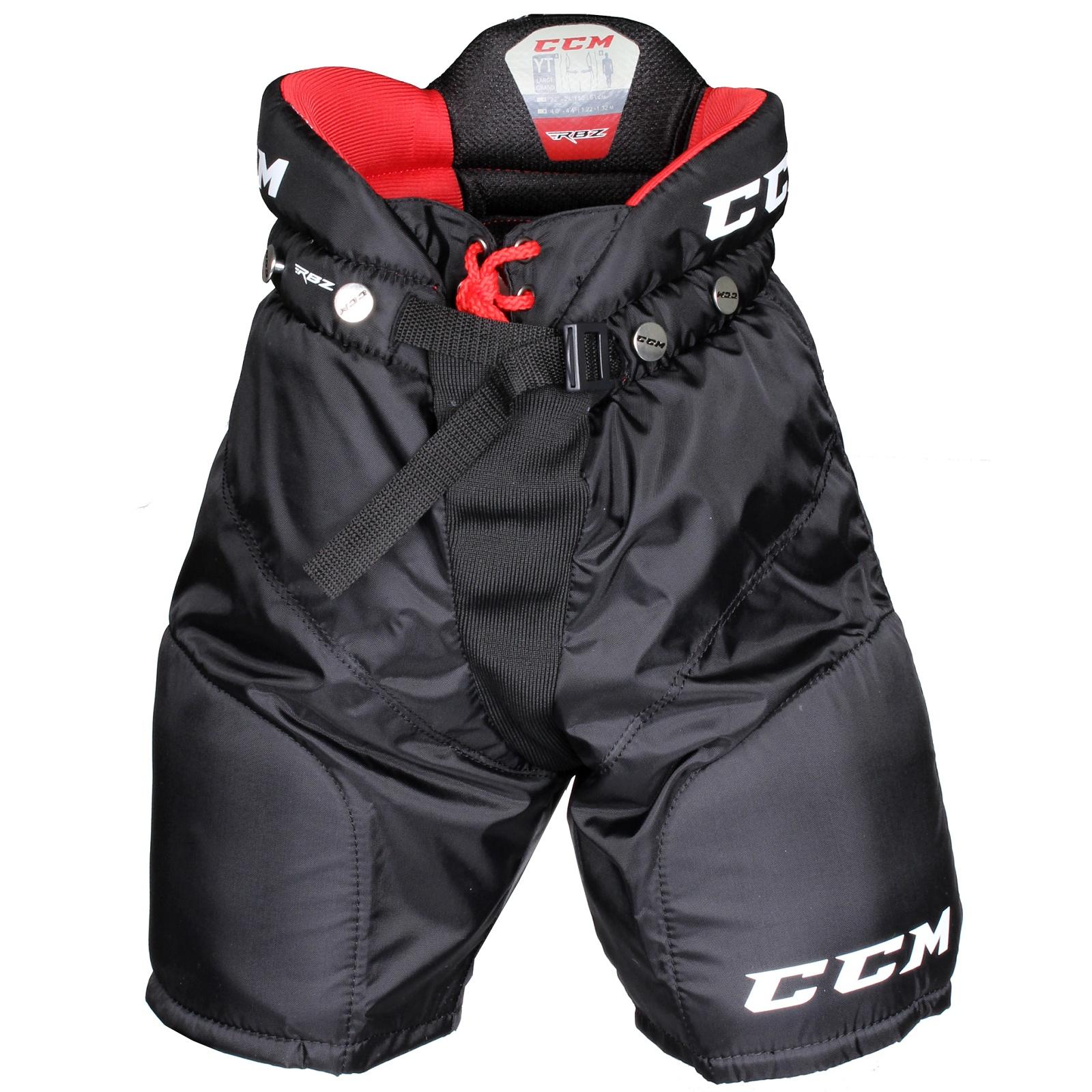 Kalhoty hráčské CCM RBZ 90 dětské černé - vel. M