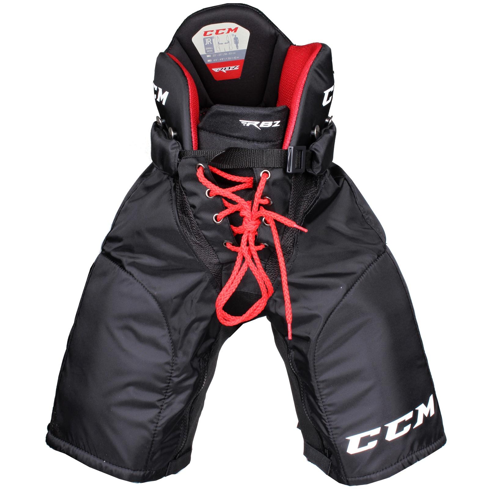 Kalhoty hráčské CCM RBZ 110 junior černé - vel. M