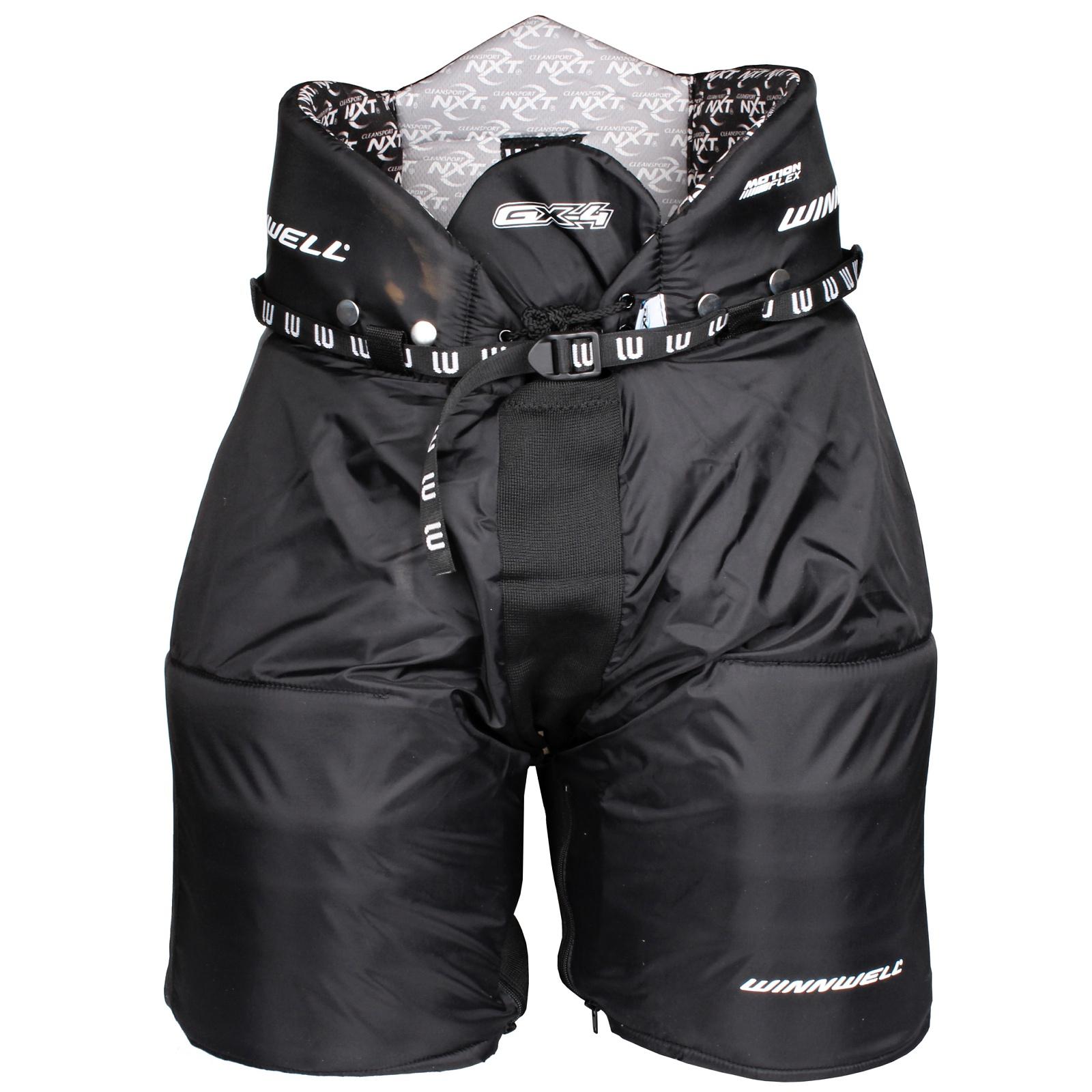 Kalhoty hráčské WINNWELL GX-4 senior černé - vel. L
