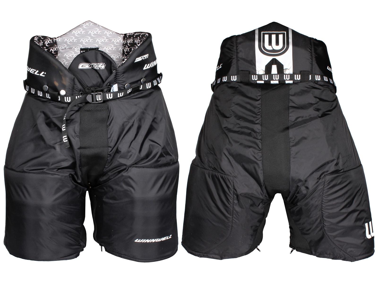 Kalhoty hráčské WINNWELL GX-4 senior černé - vel. XL