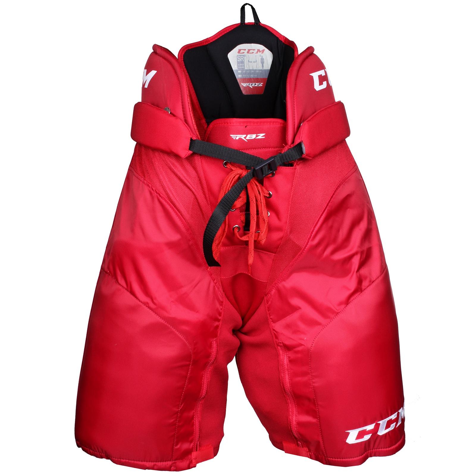 Kalhoty hráčské CCM RBZ 130 senior červené - vel. XL