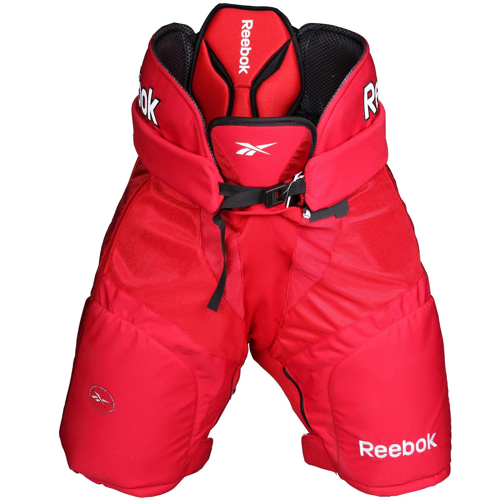 Kalhoty hráčské REEBOK 18K senior červené - vel. XL