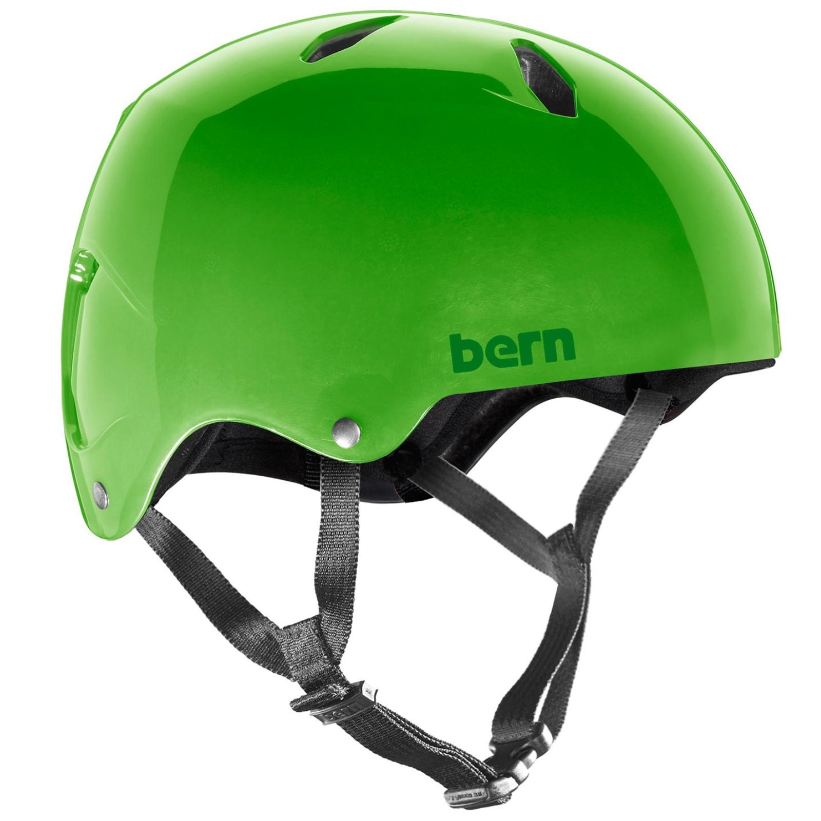 Helma BERN Diablo dětská zelená - vel. M