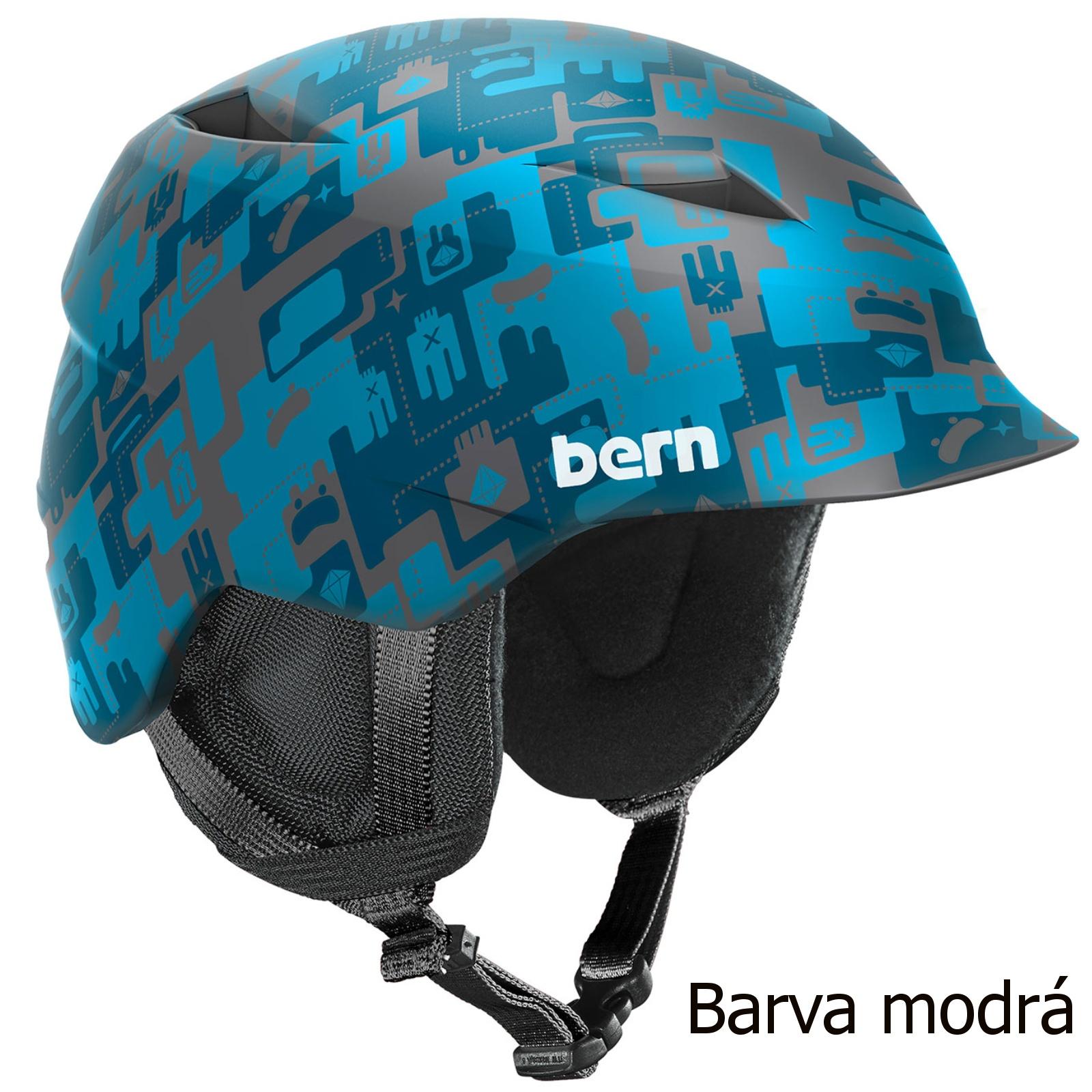 Helma BERN Camino chlapecká modrá - vel. XS-S
