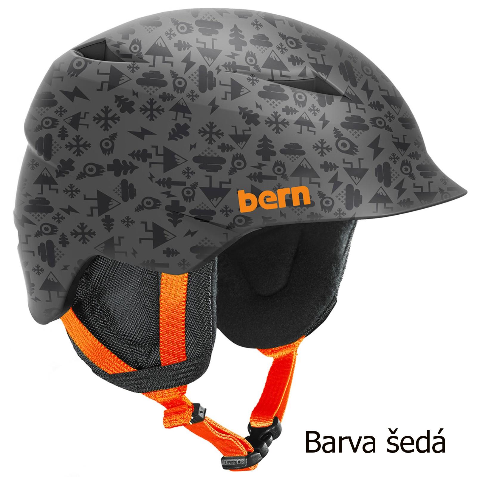 Helma BERN Camino chlapecká šedá - vel. S-M