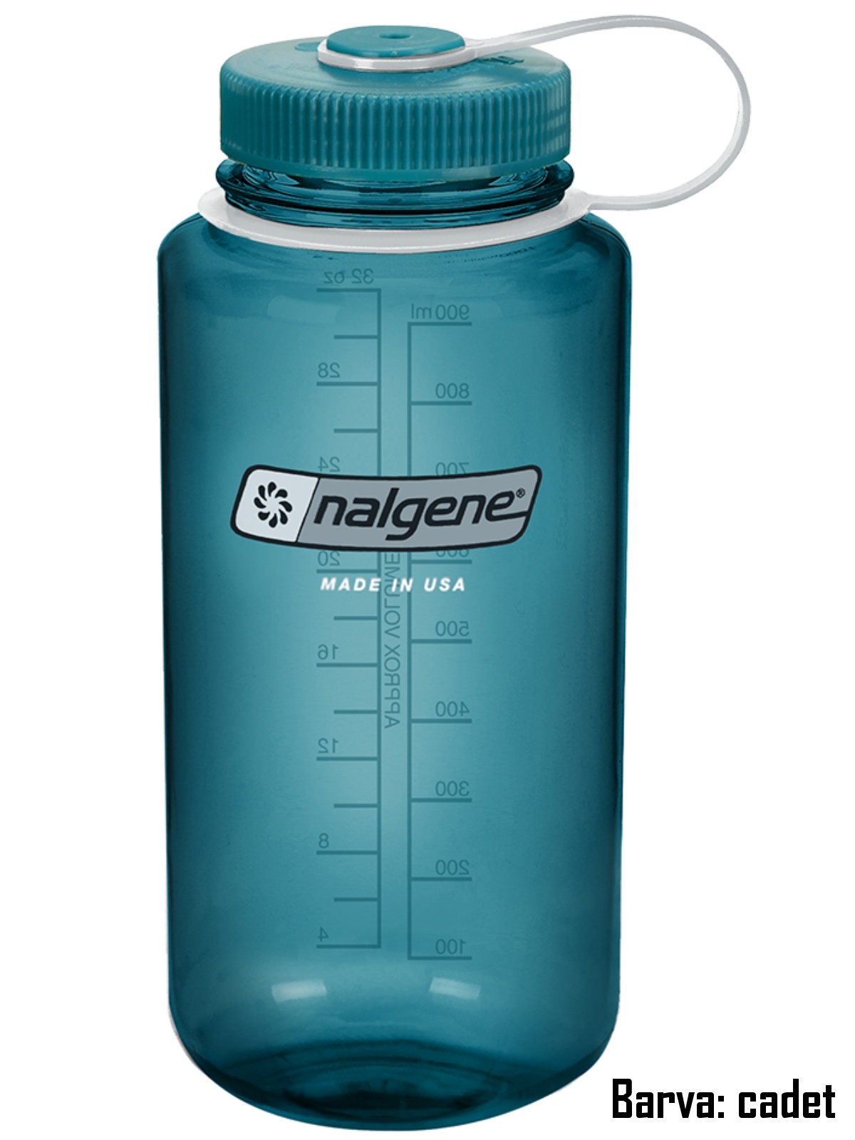 Láhev NALGENE Wide Mouth 1 l - cadet