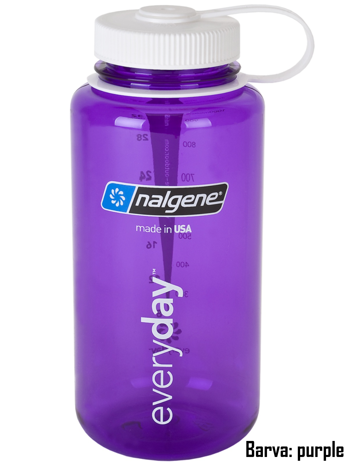 Láhev NALGENE Wide Mouth 1 l - purple