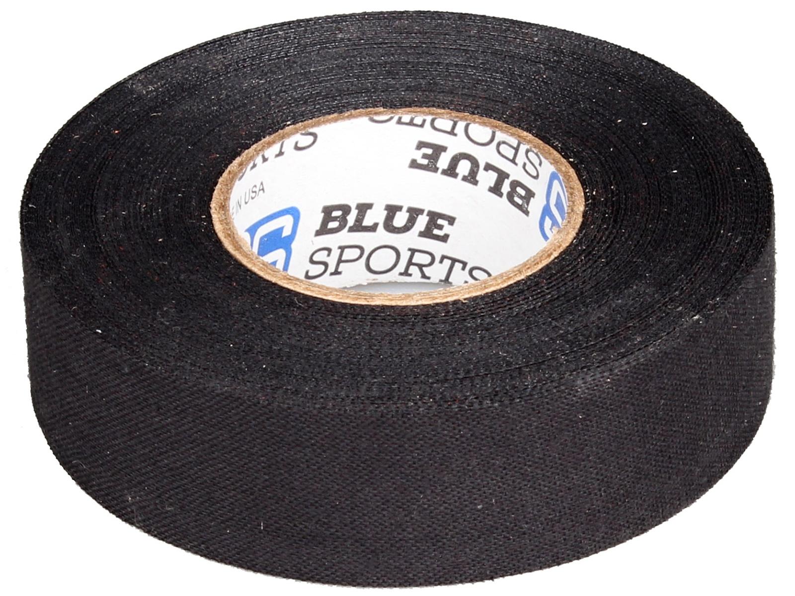 Hokejová páska BLUE Sport 18 m x 2,4 cm, netrhací - černá