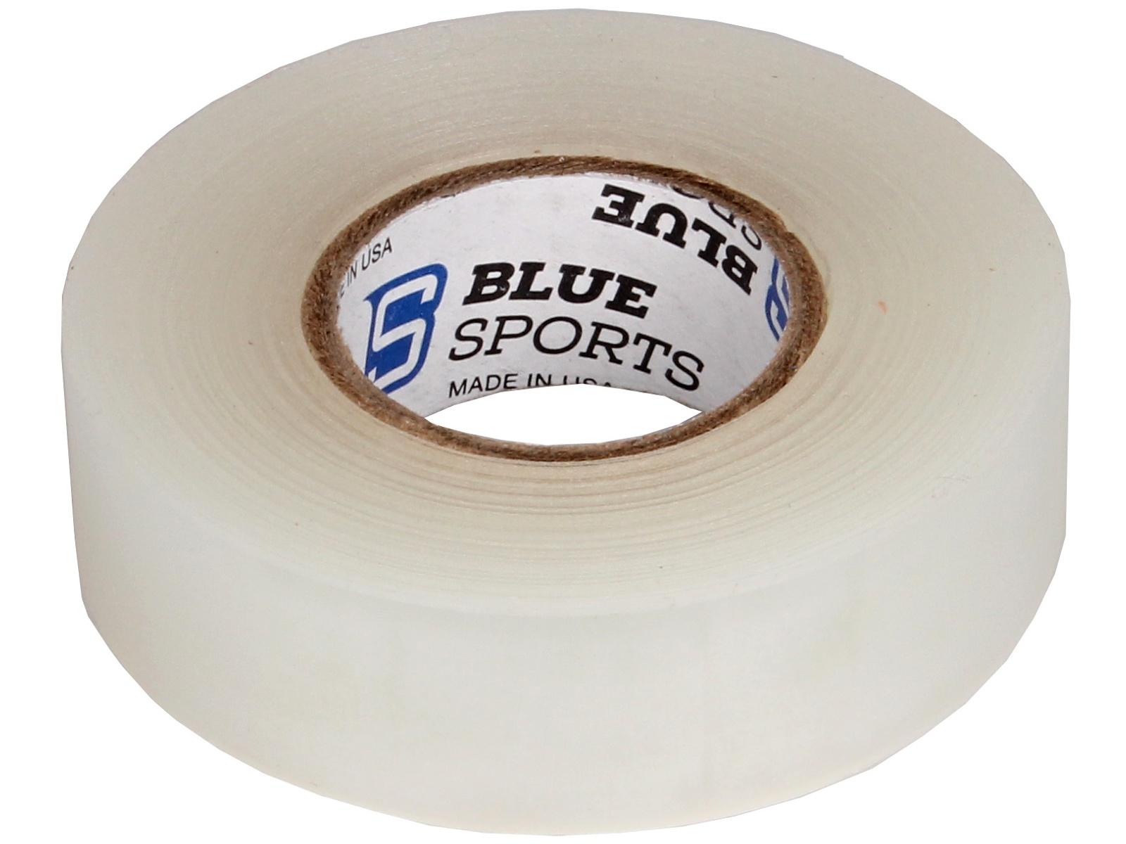 Hokejová páska BLUE Sport 18 m x 2,4 cm, netrhací - bílá