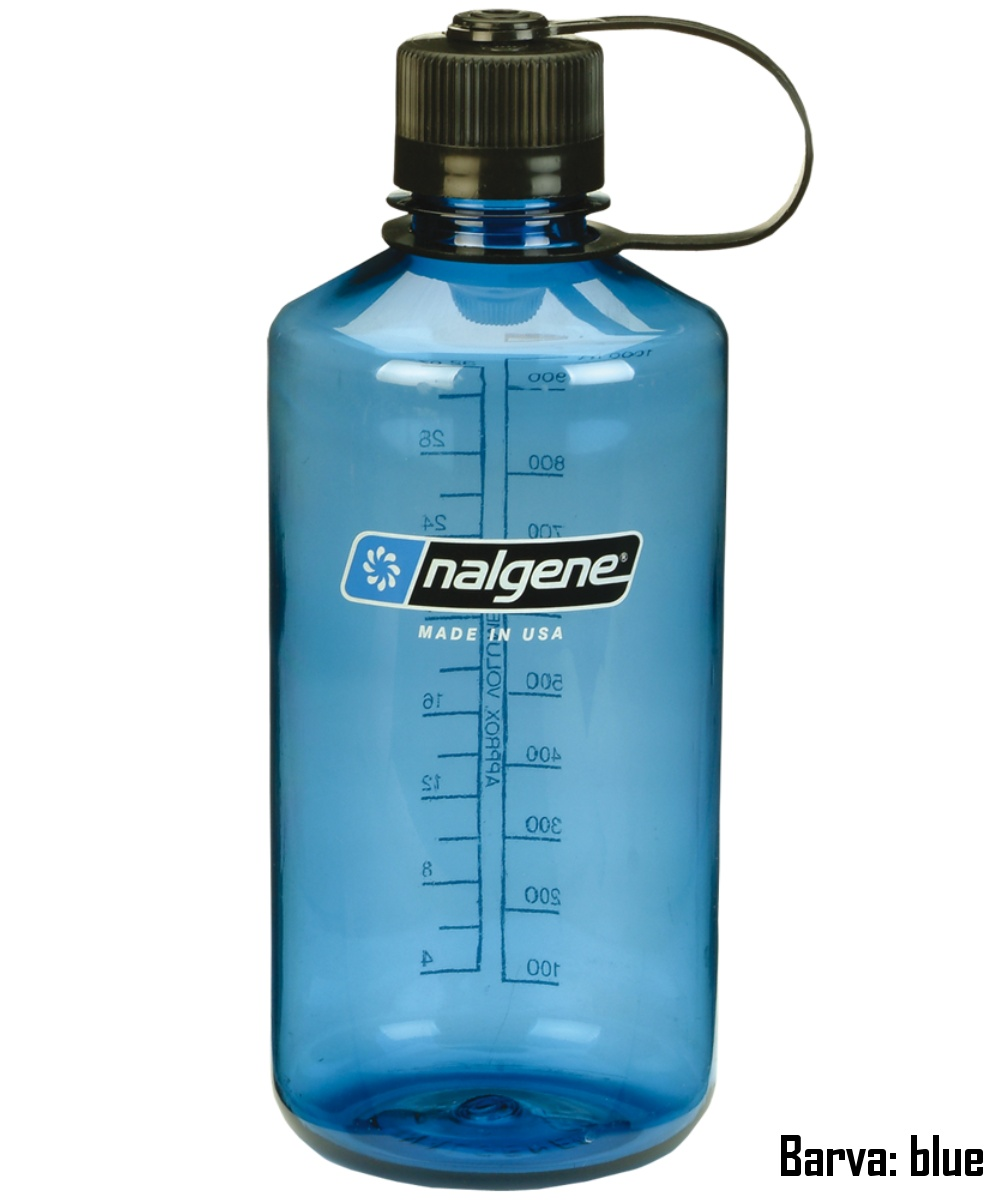 Láhev NALGENE Narrow Mouth 1 l - blue