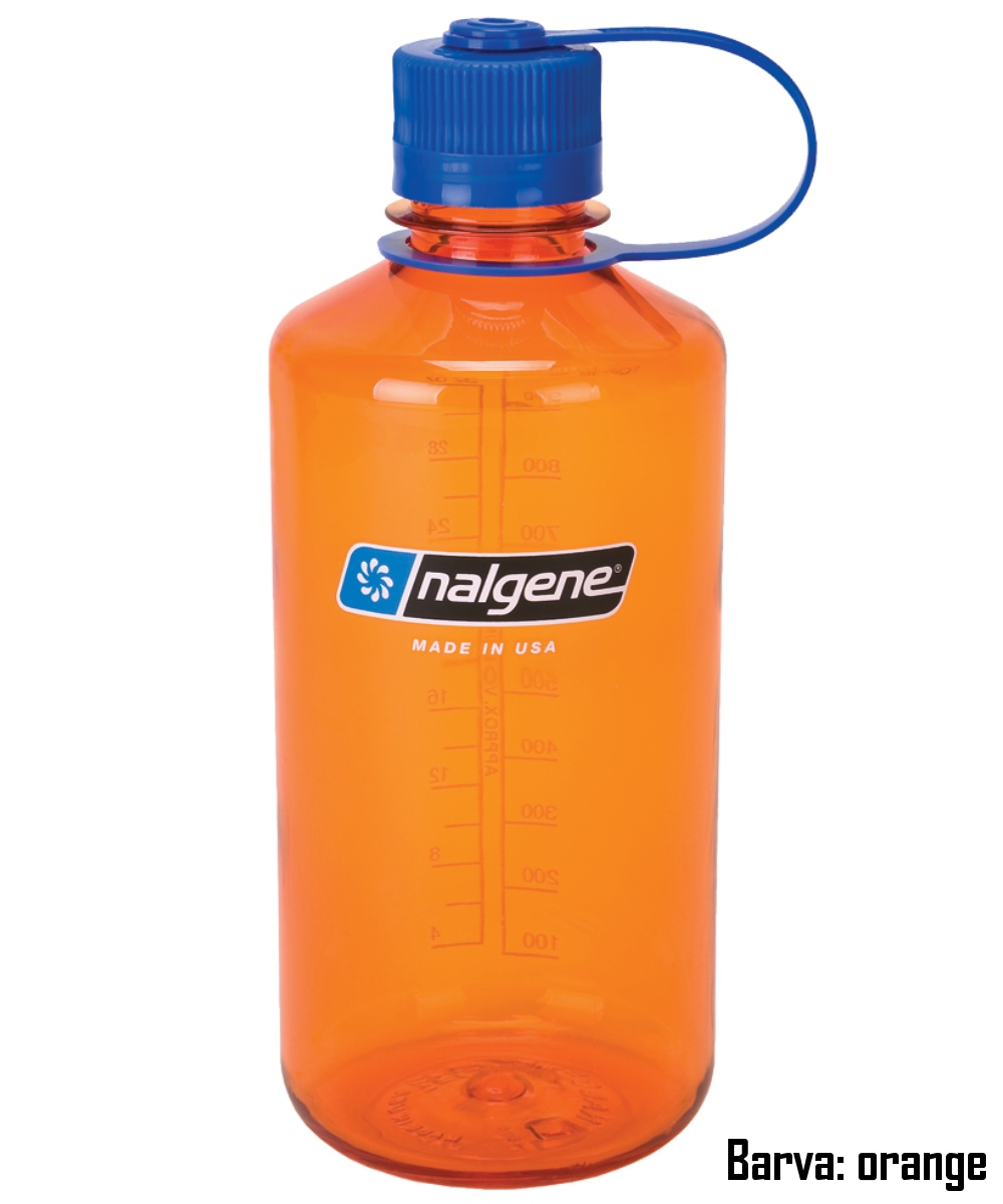 Láhev NALGENE Narrow Mouth 1 l - orange