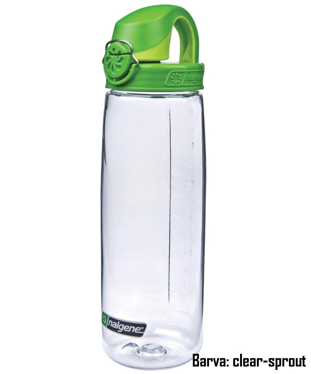 Láhev NALGENE OTF 0,7 l - clear-sprout