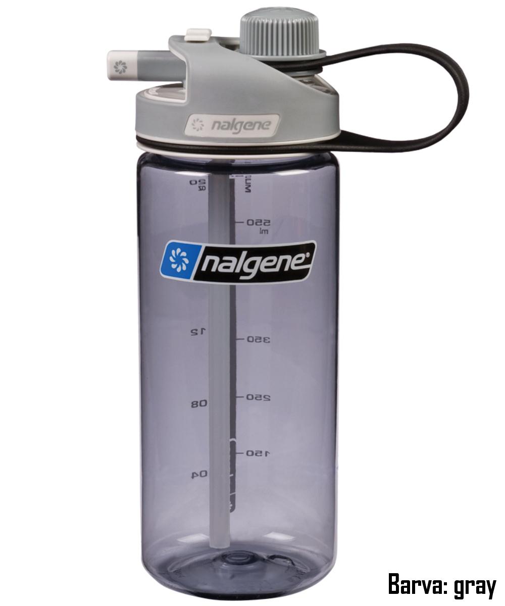 Láhev NALGENE Multi Drink 0,6 l - gray