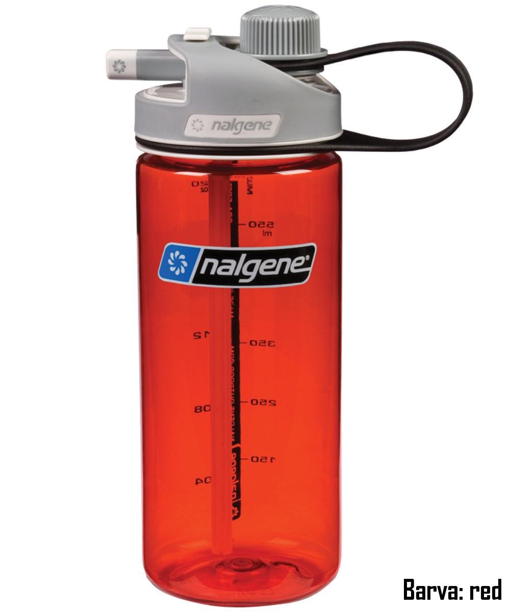 Láhev NALGENE Multi Drink 0,6 l - red