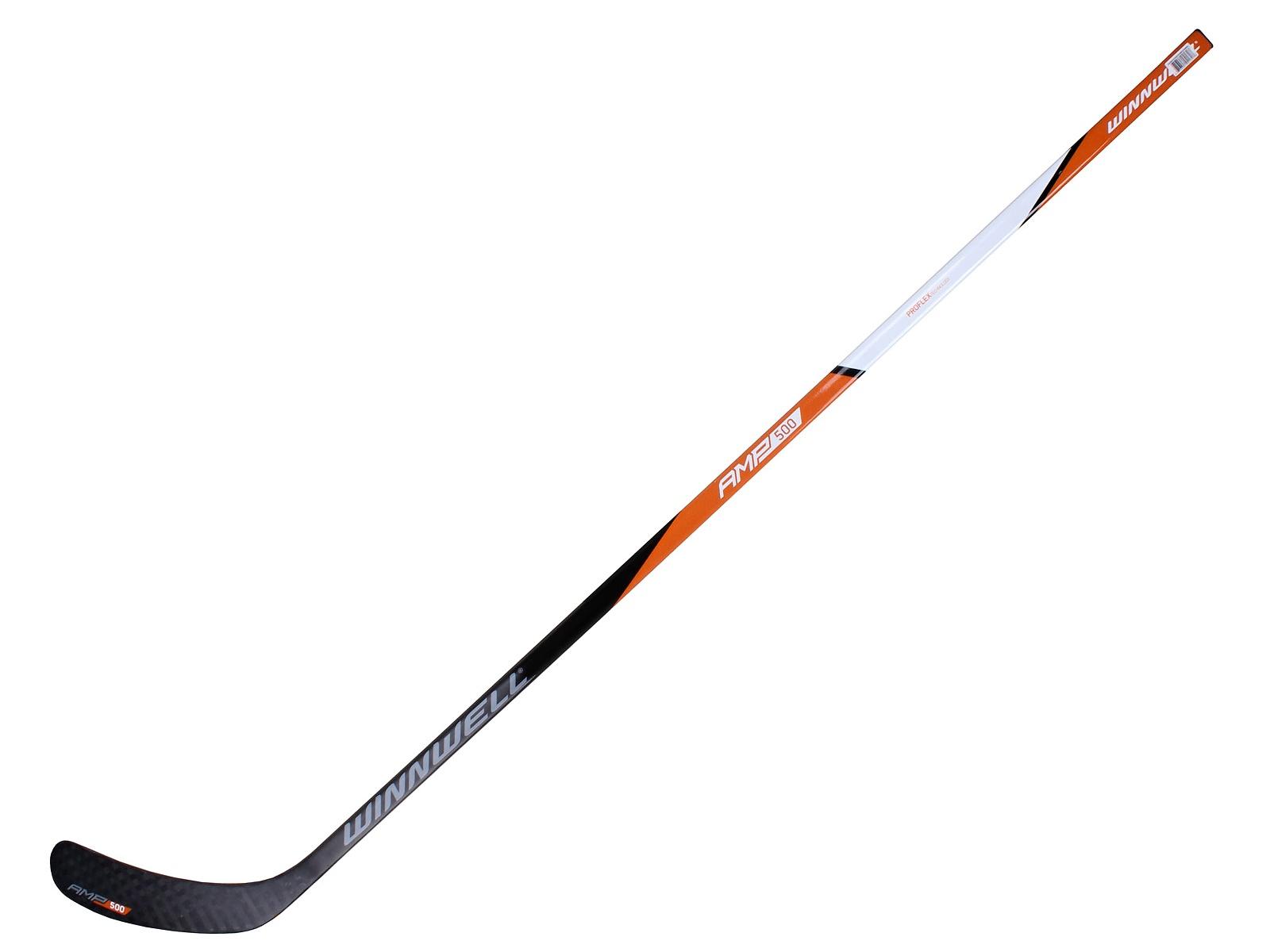 Hokejka WINNWELL AMP 500 kompozit, flex 95 - LH 19