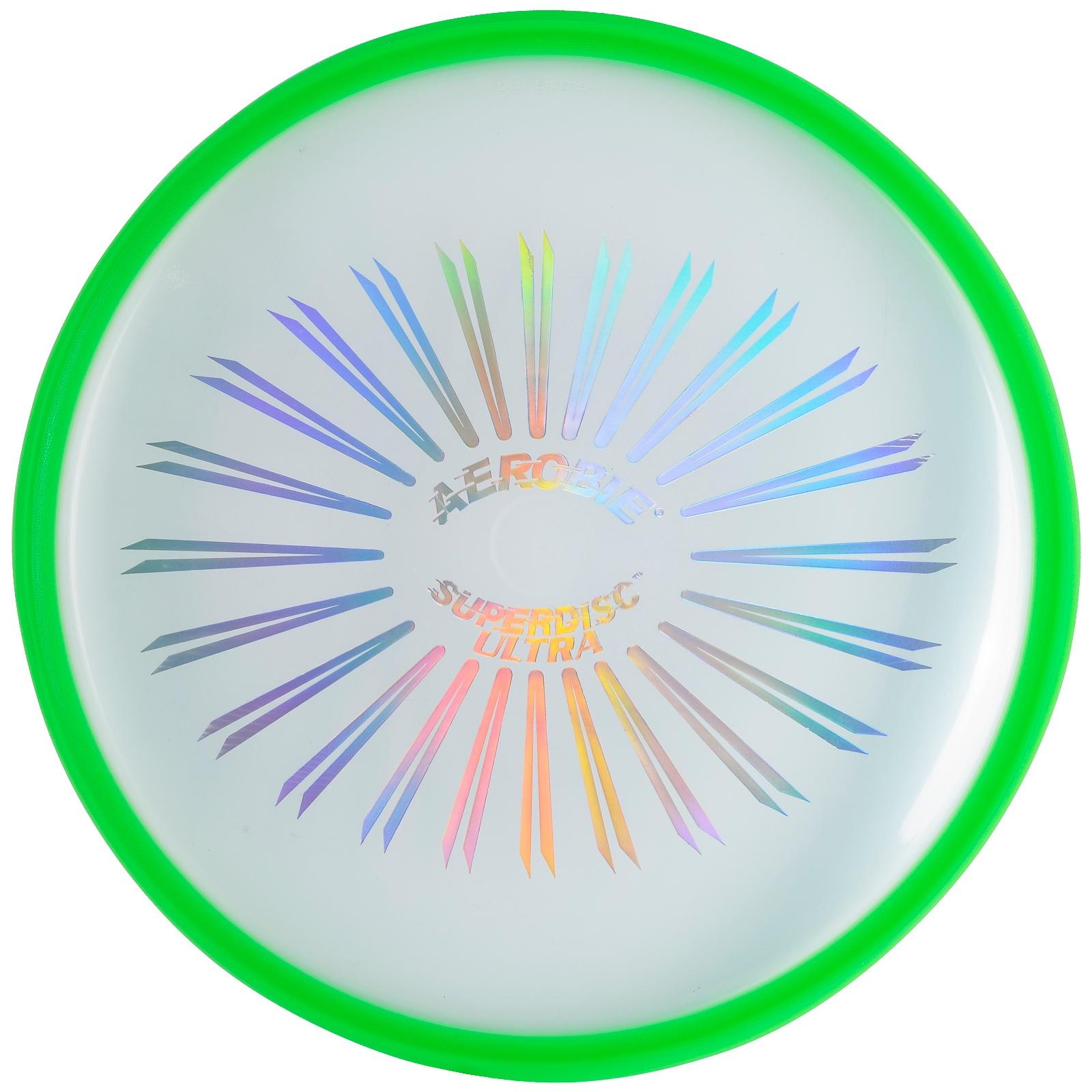 Létající talíř AEROBIE Superdisc Ultra - zelený