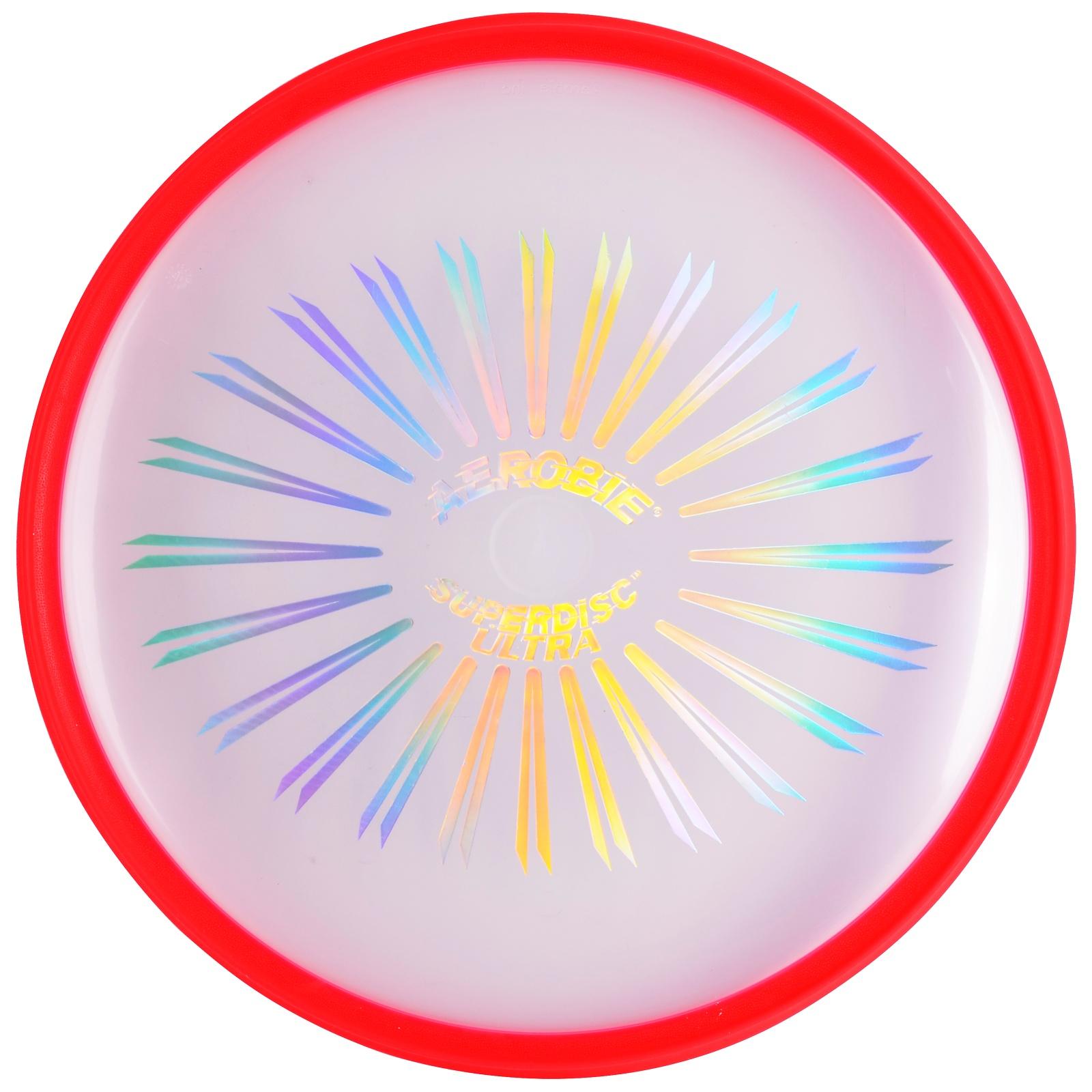 Létající talíř AEROBIE Superdisc Ultra - červený
