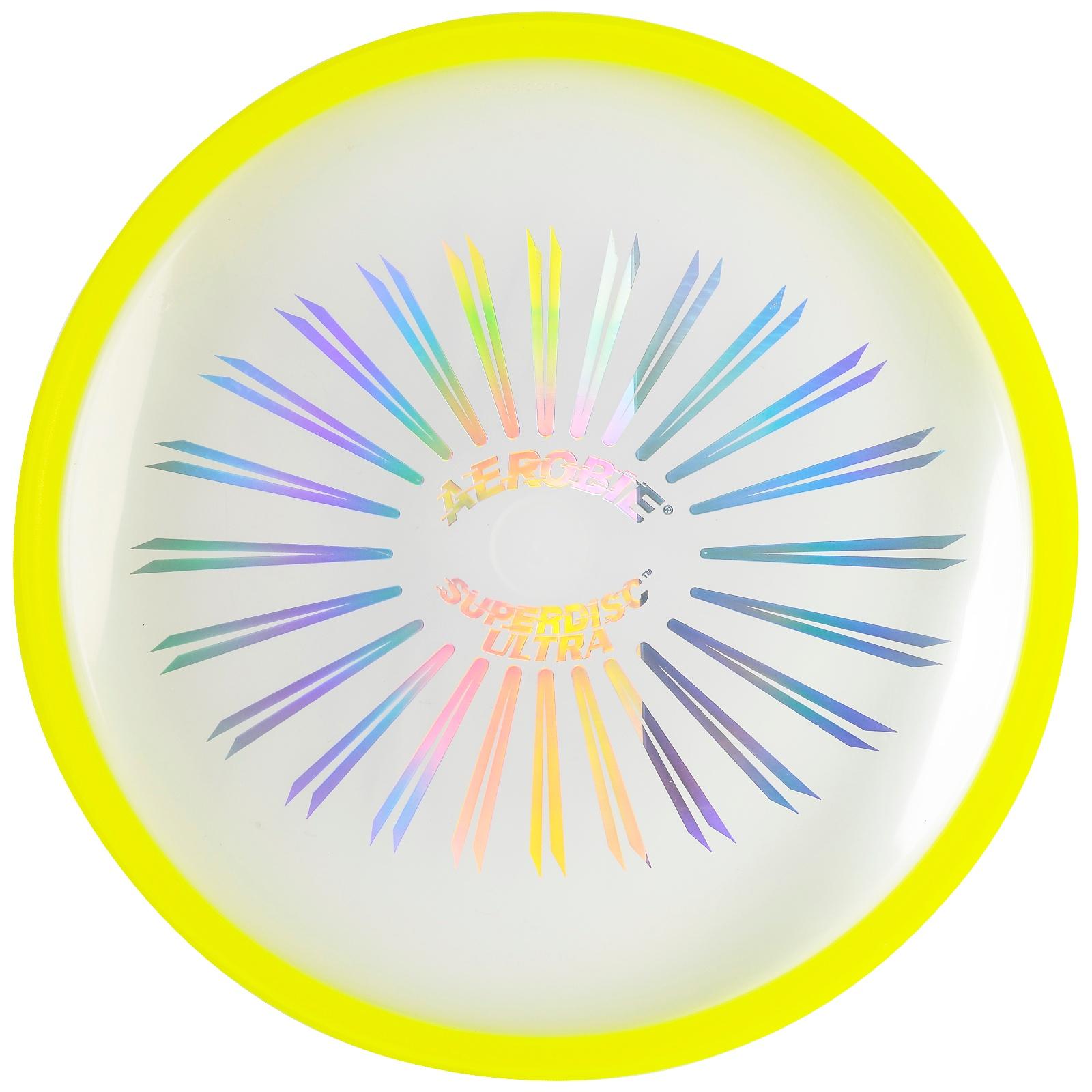Létající talíř AEROBIE Superdisc Ultra - žlutý