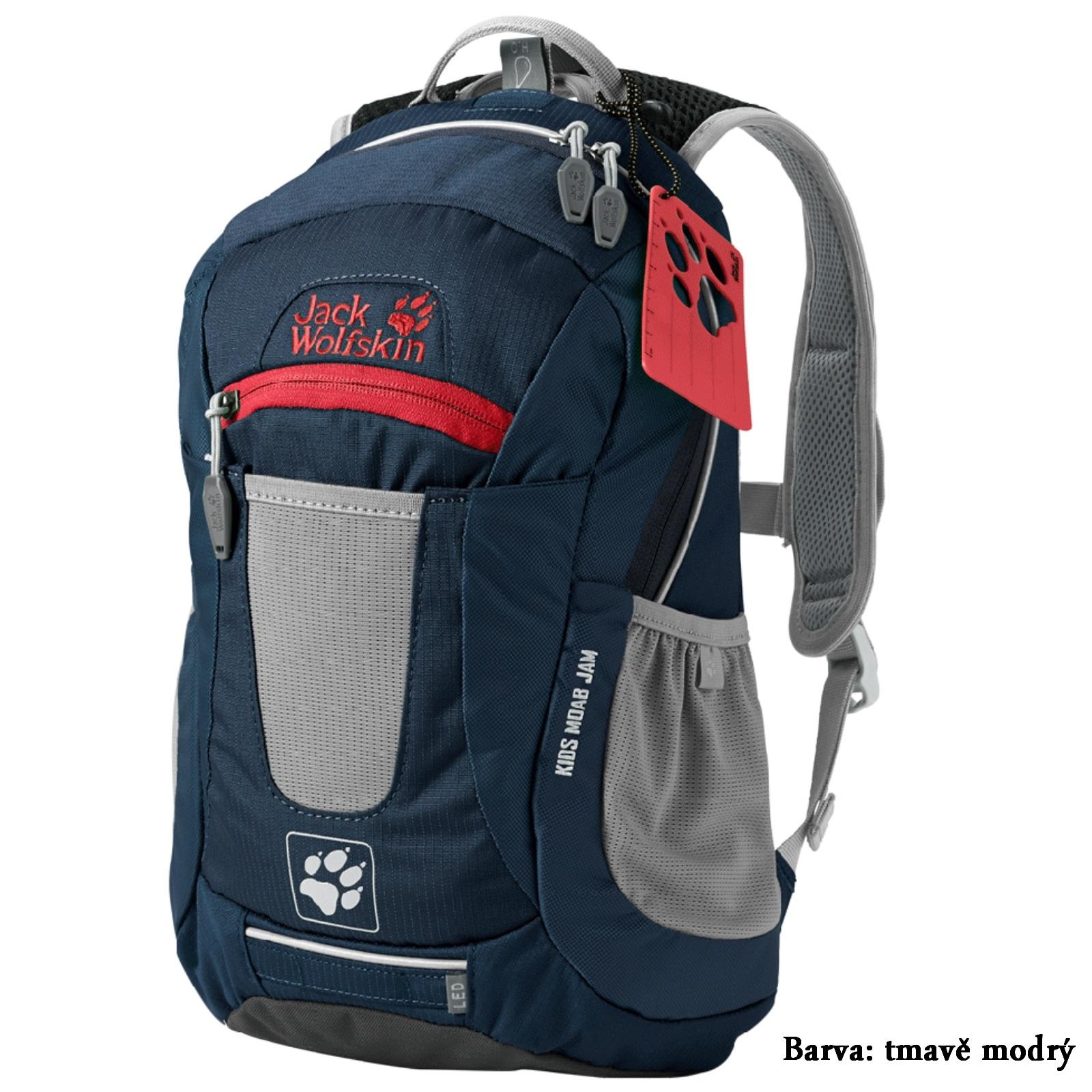 Dětský sportovní batoh JACK WOLFSKIN Moab Jam - tmavě modrý