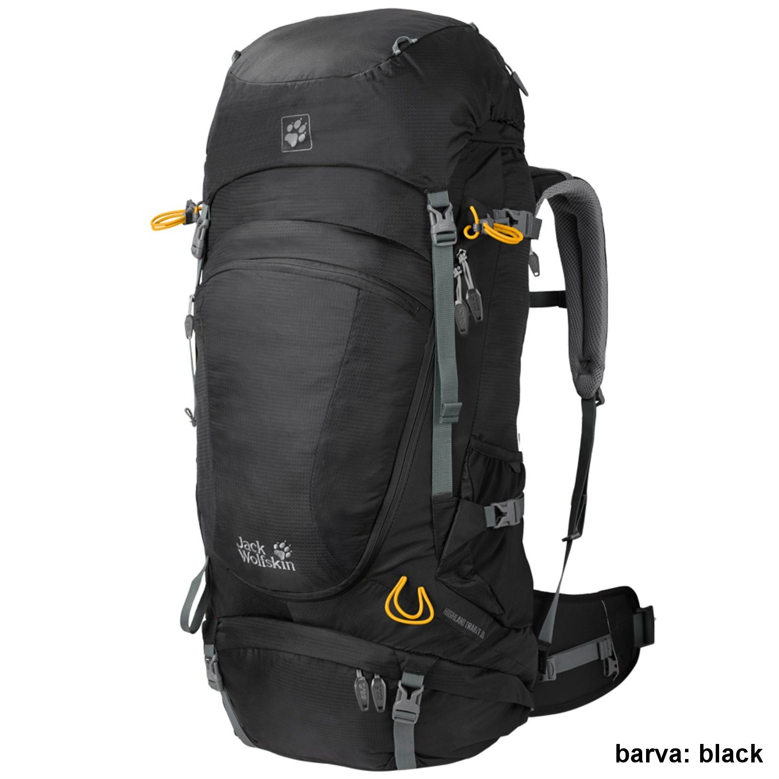 Batoh JACK WOLFSKIN Highland Trail XT 50 - černý
