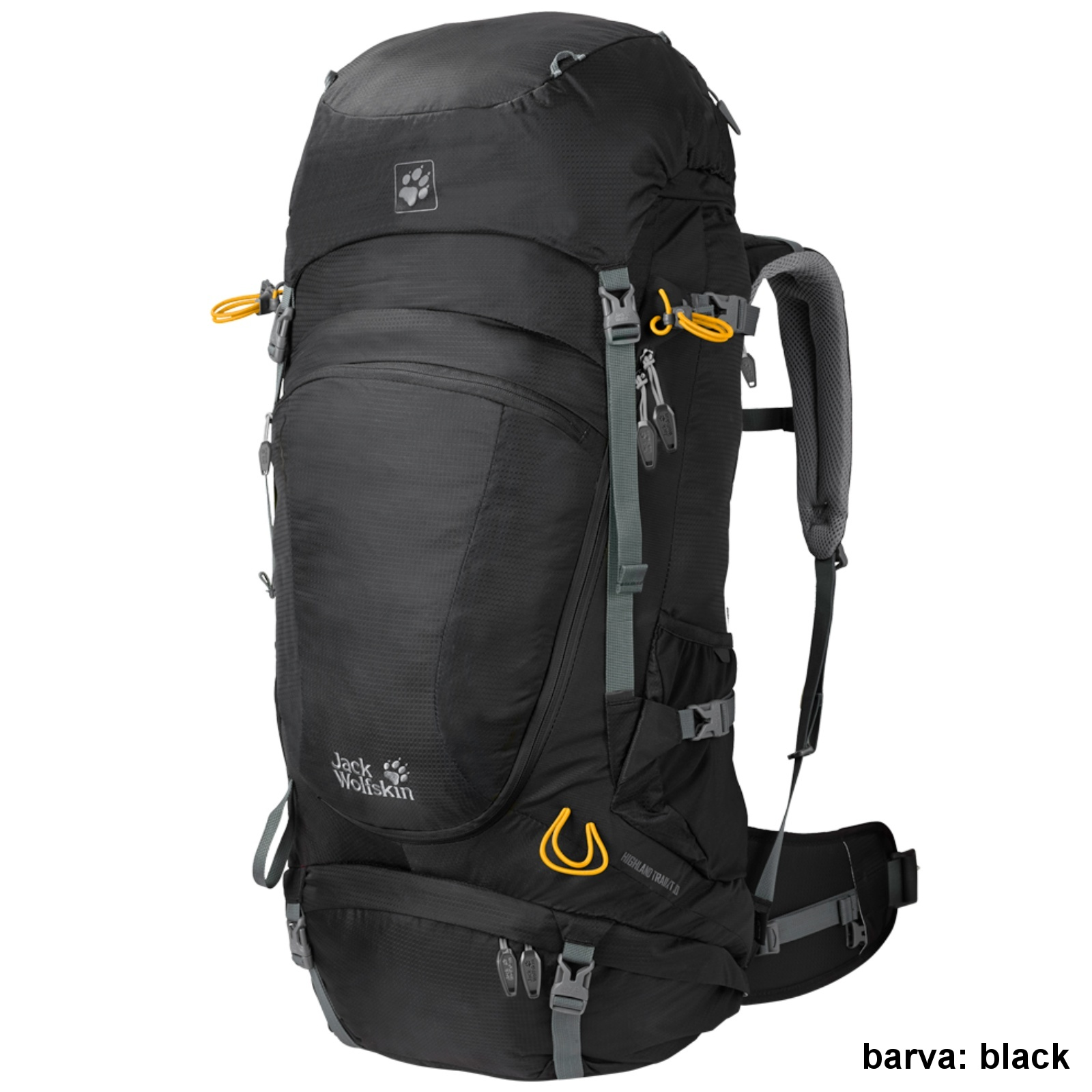 Batoh JACK WOLFSKIN Highland Trail XT 50 - black