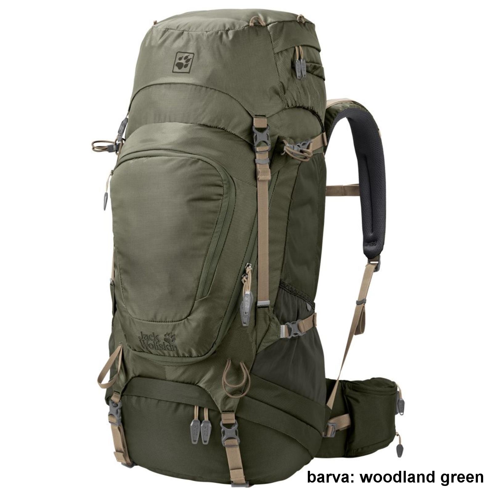 Batoh JACK WOLFSKIN Highland Trail XT 50 - woodland green