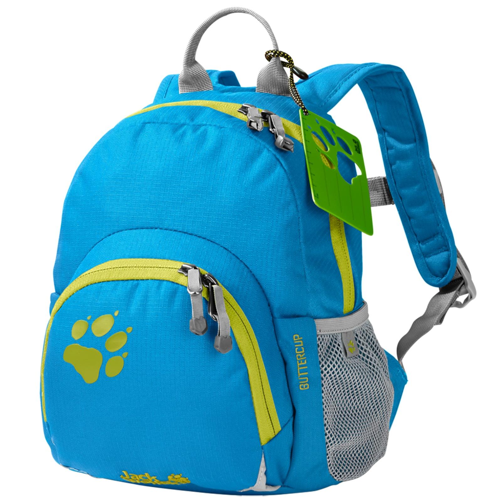 Dětský batoh JACK WOLFSKIN Buttercup - světle modrý/zelený