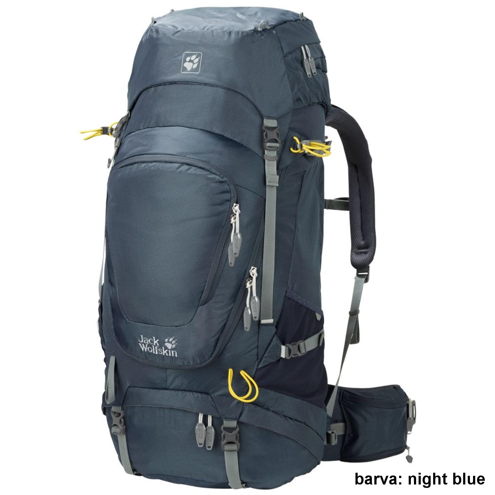 Batoh JACK WOLFSKIN Highland Trail XT 60 - night blue