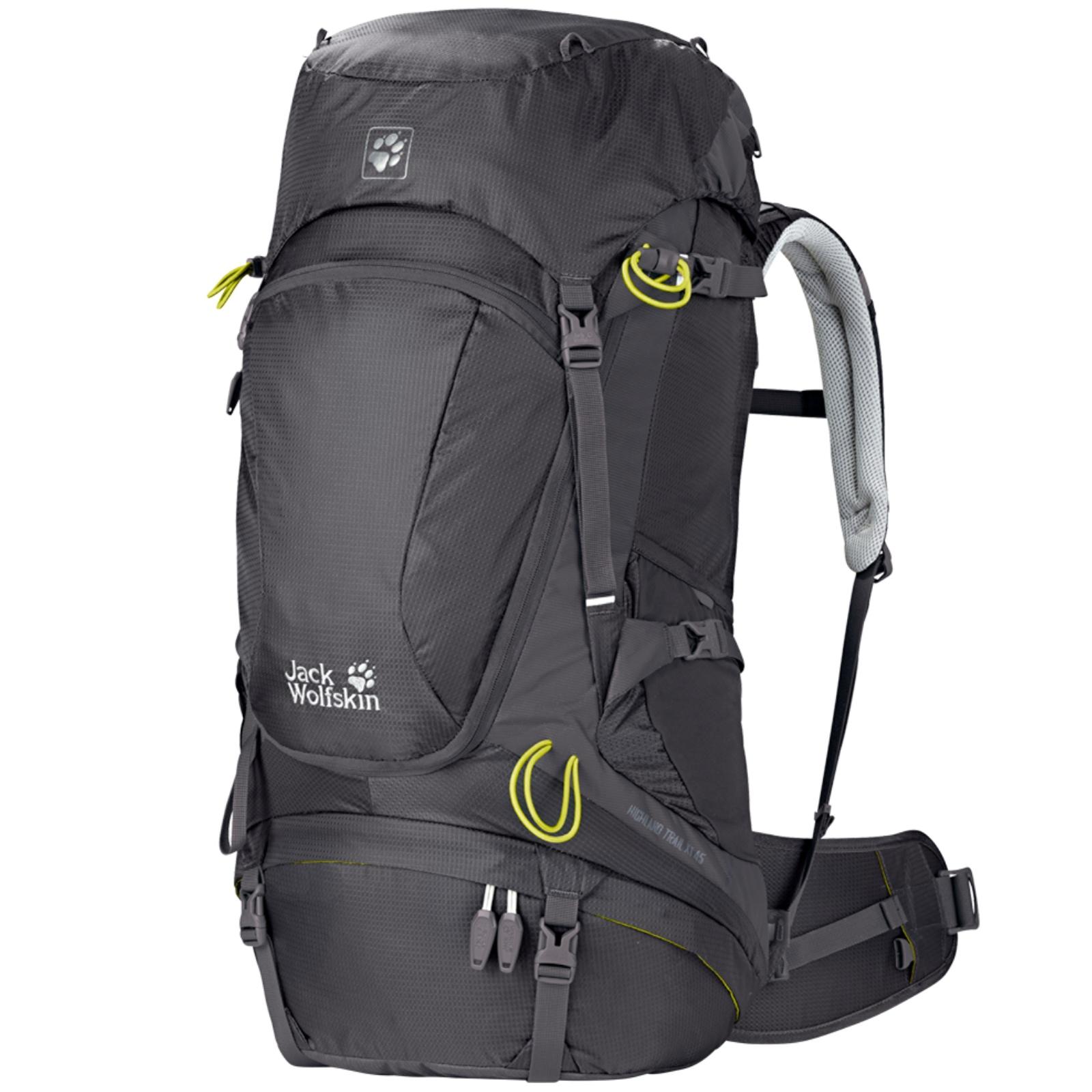 Batoh JACK WOLFSKIN Highland Trail XT 45 Women - černý