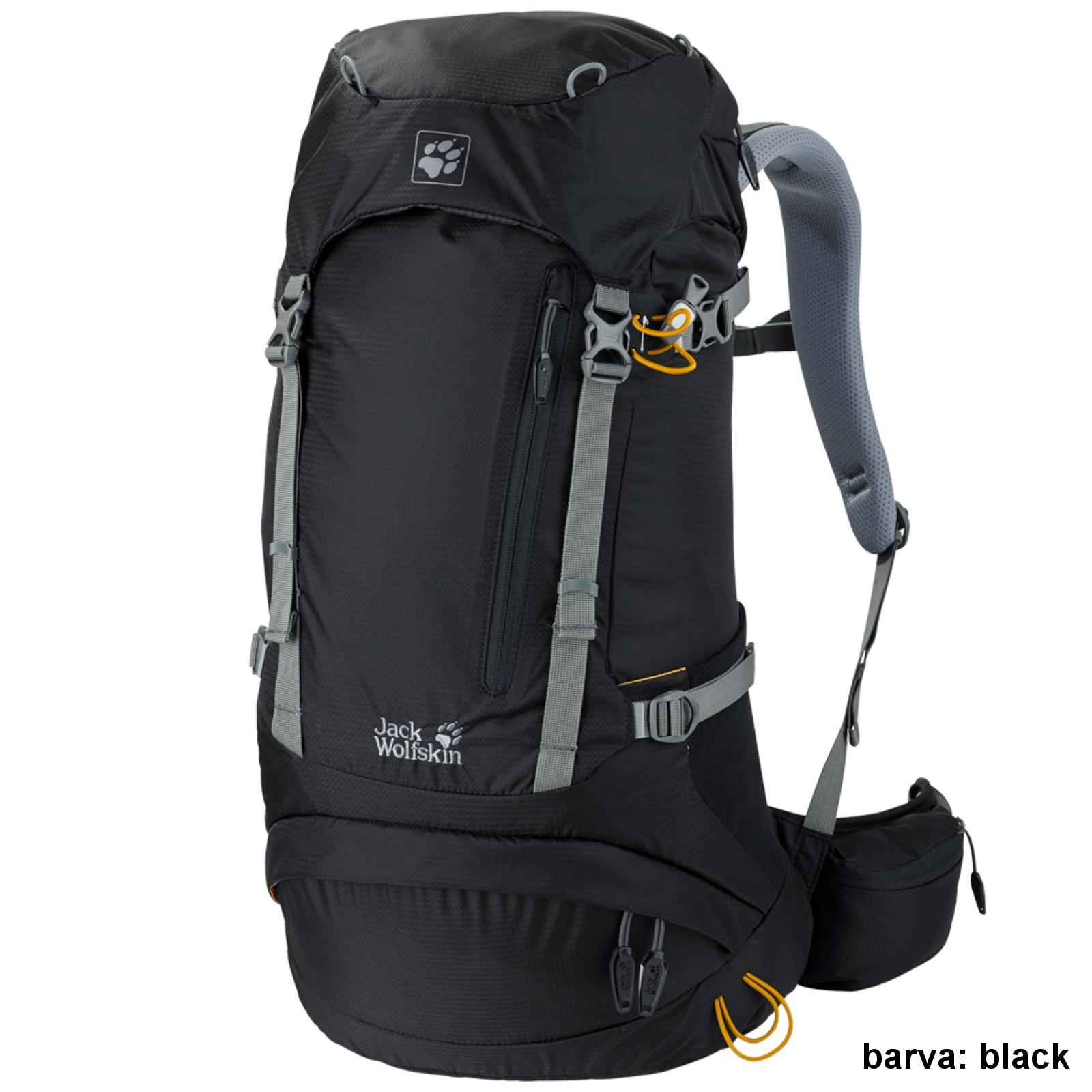 Batoh JACK WOLFSKIN ACS Hike Pack 26 l - black