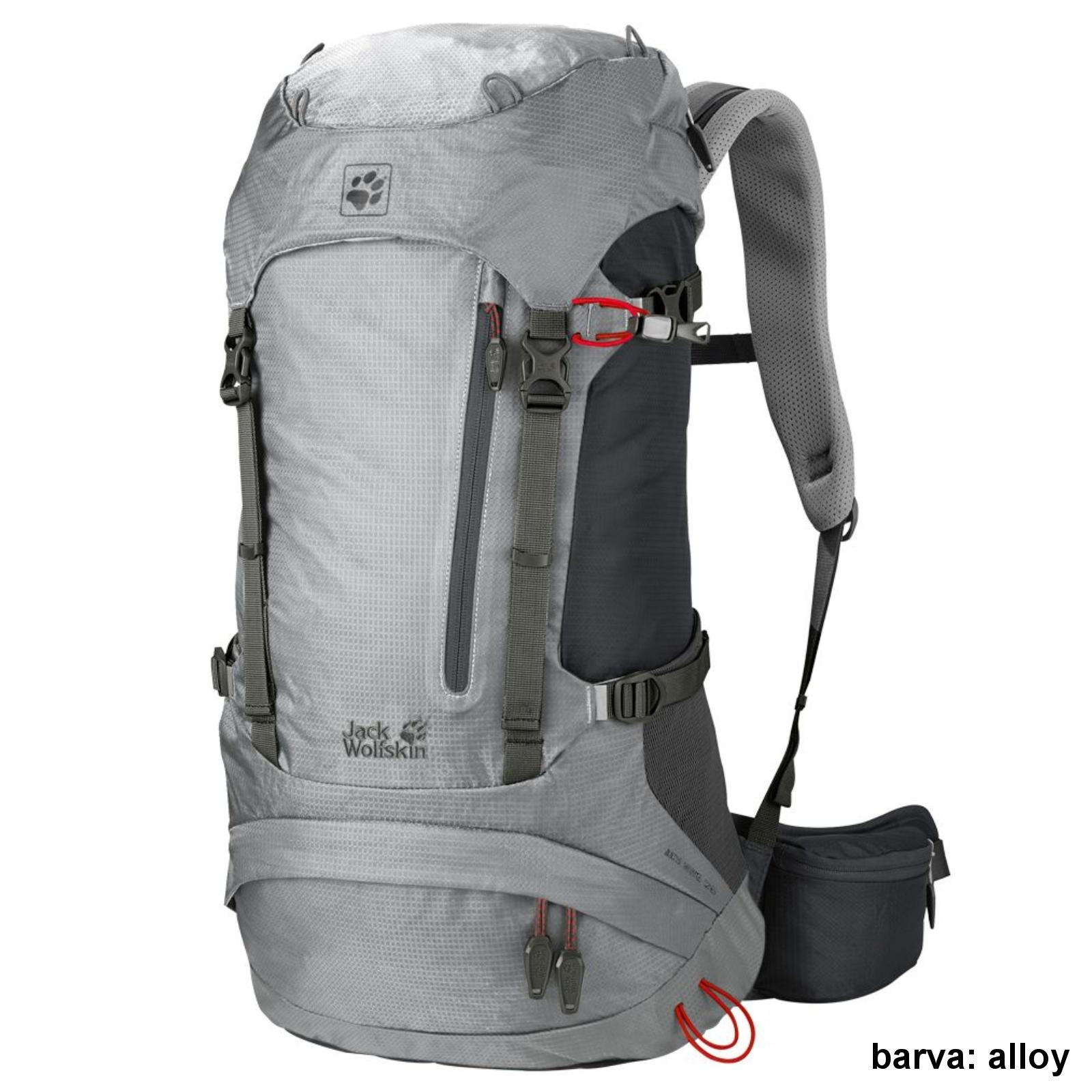 Batoh JACK WOLFSKIN ACS Hike Pack 26 l - alloy