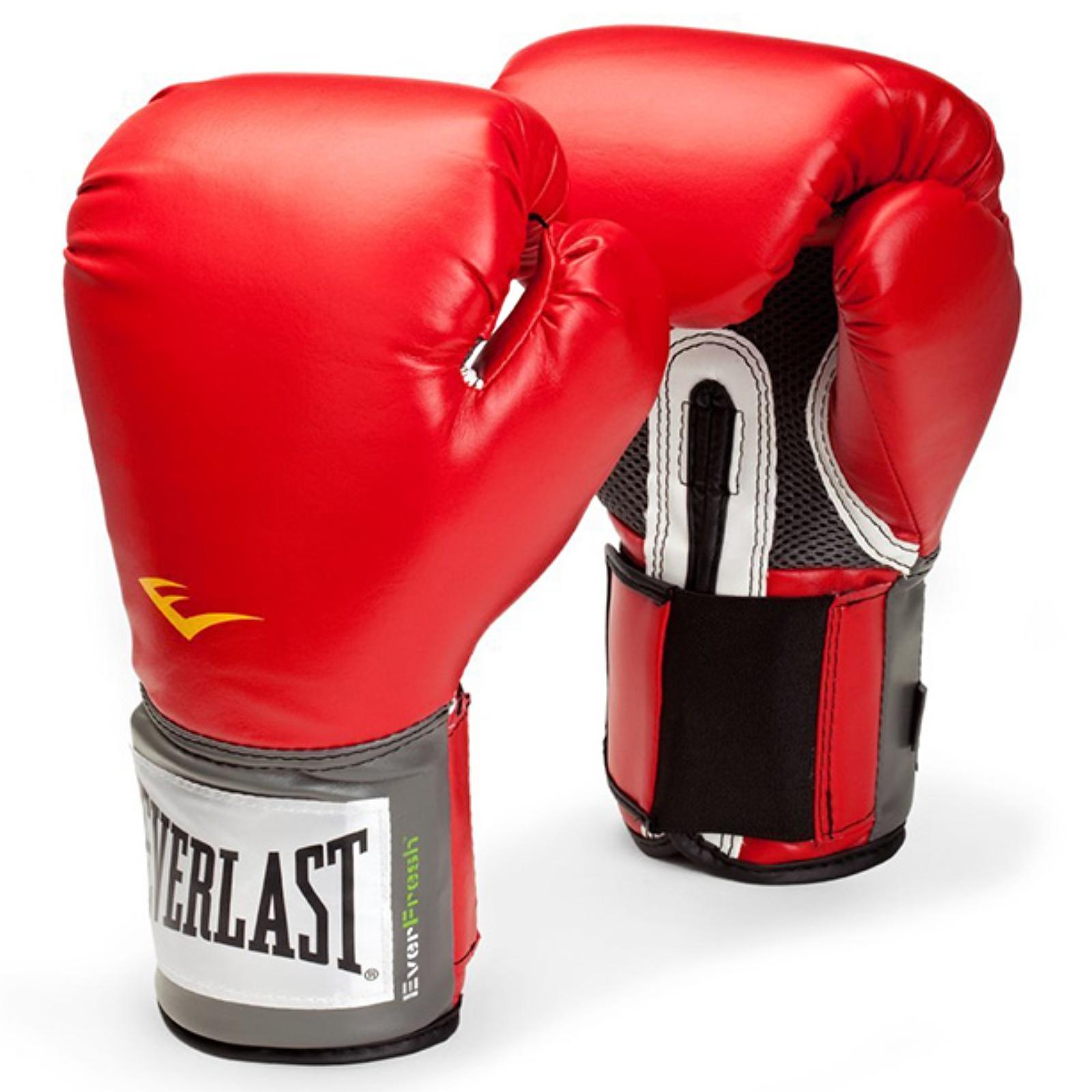 Boxerské rukavice EVERLAST Pro Style - červené 16oz.