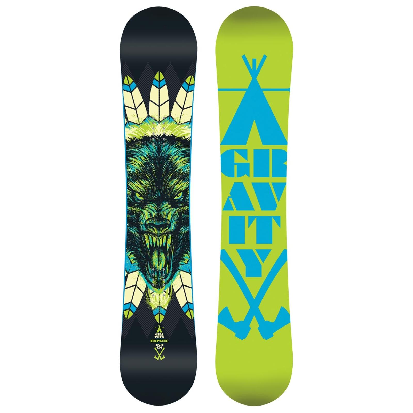Snowboard GRAVITY Empatic - vel. 155W