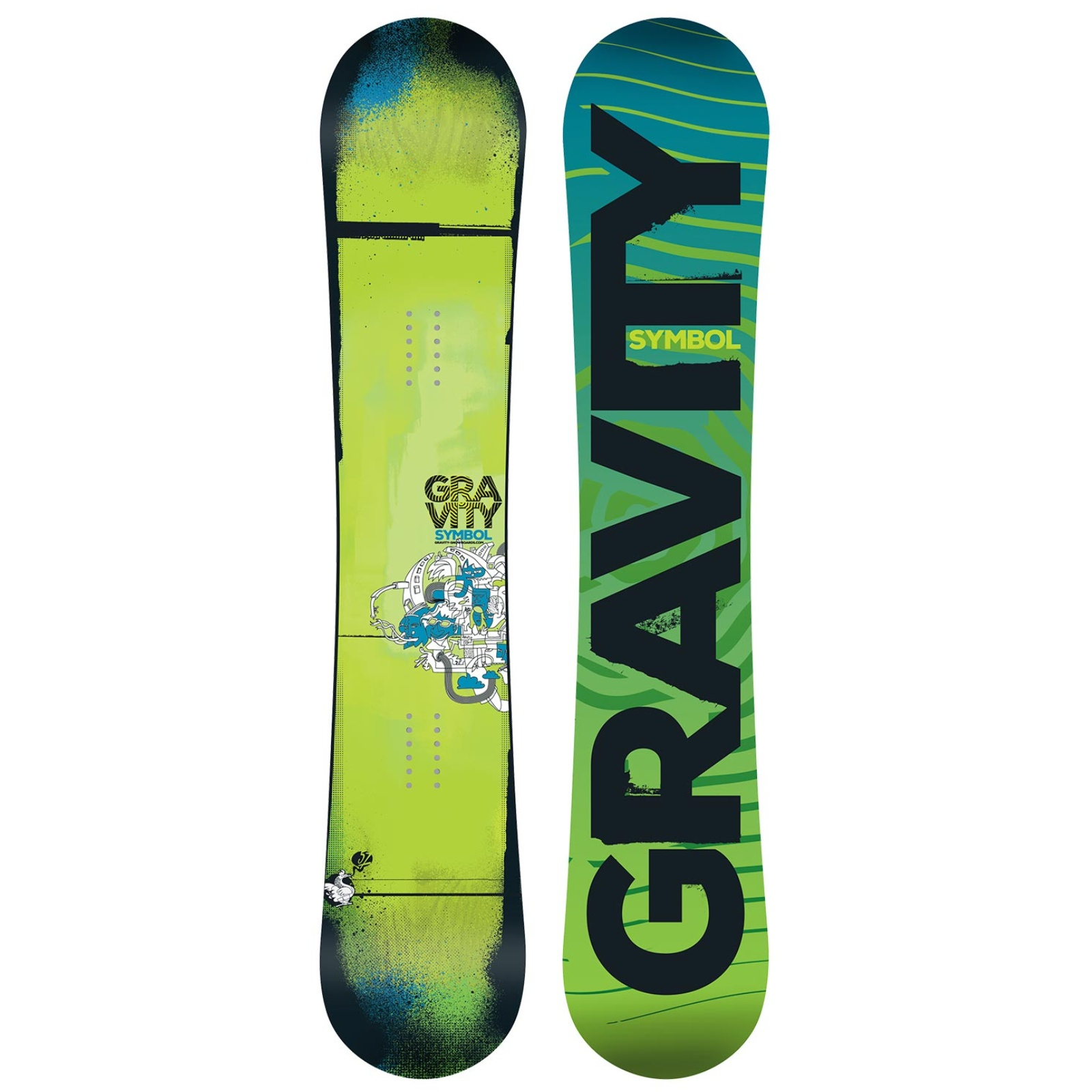 Snowboard GRAVITY Symbol - vel. 154