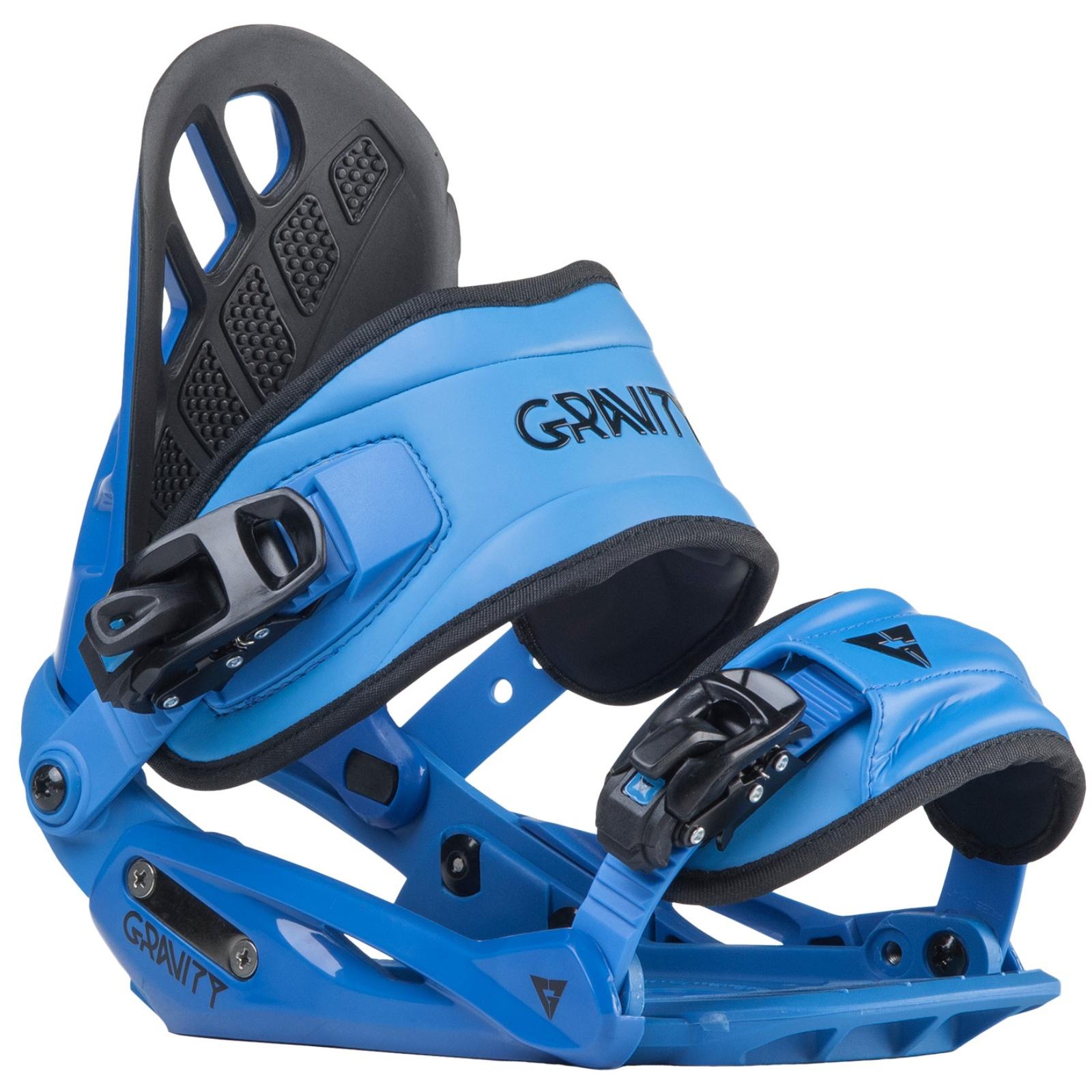 Snowboard vázání GRAVITY G1 pánské modré - vel. L
