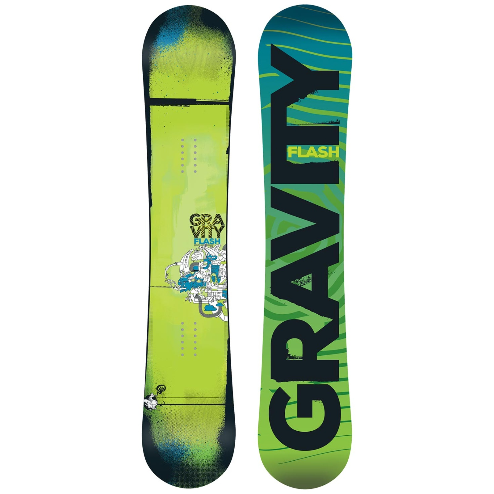 Snowboard GRAVITY Flash - vel. 135