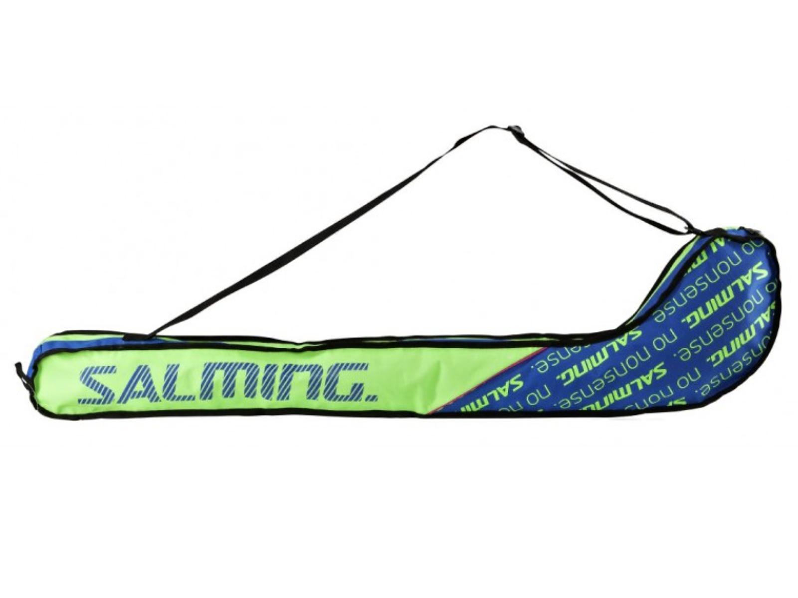 Florbalový vak SALMING Tour Stickbag JR zeleno-modrá