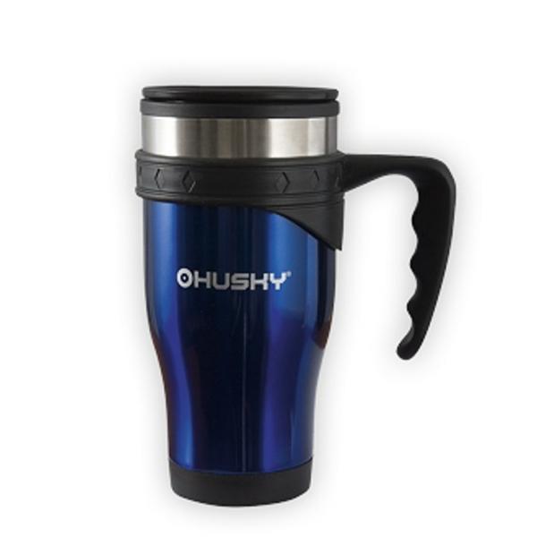 Hrnek HUSKY Flip Thermo Mug 450 modrý