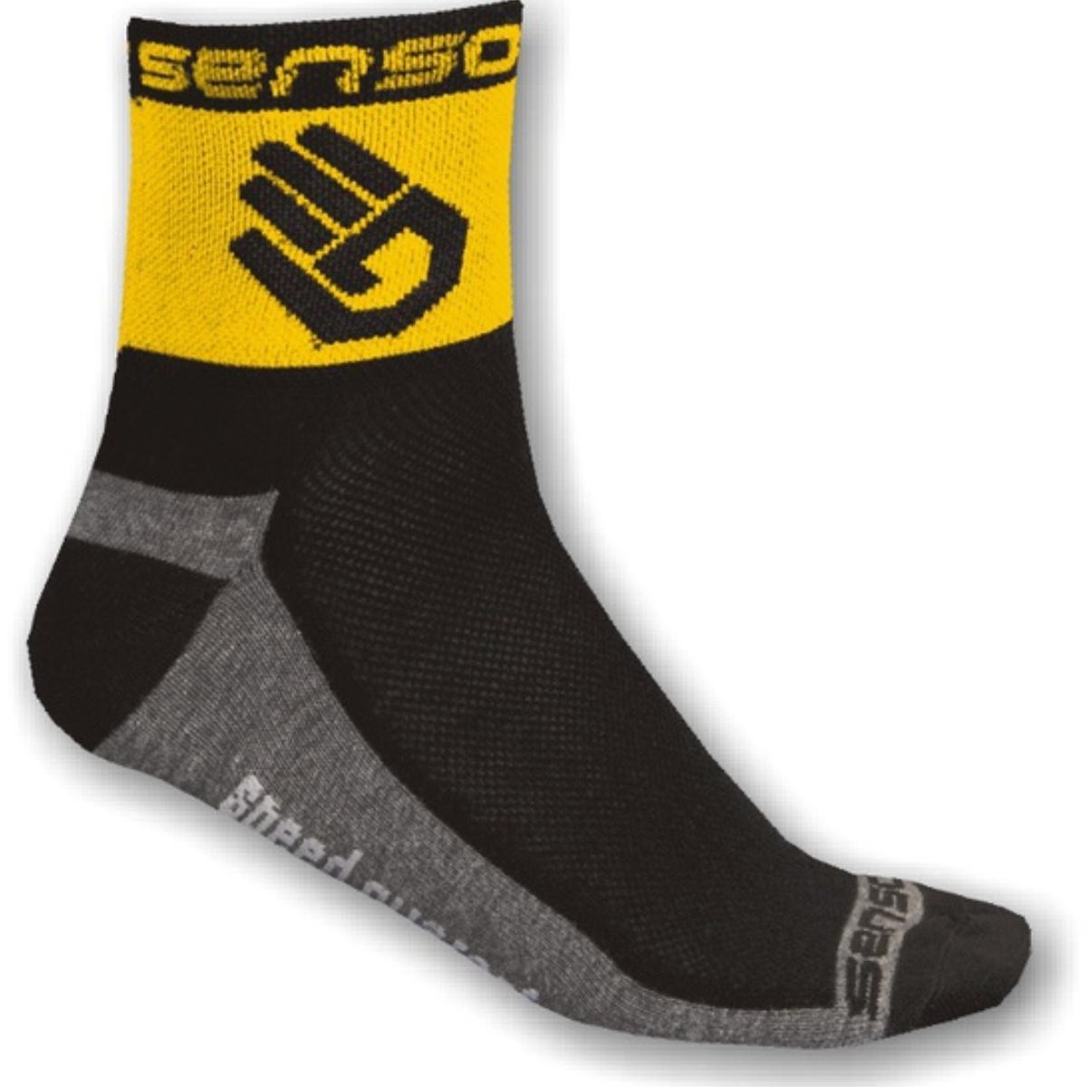 Ponožky SENSOR Race Lite Ruka 3-5 žluté