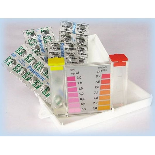 Bazénový tester na pH a chlórovou koncentraci - proužky