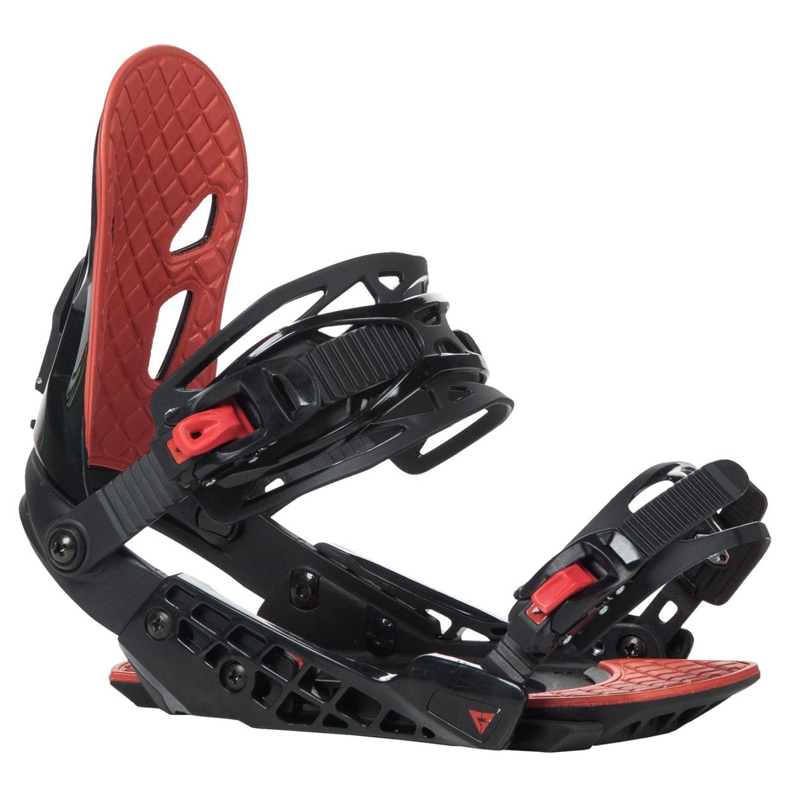 Snowboard vázání GRAVITY G2 dámské červené - vel. M