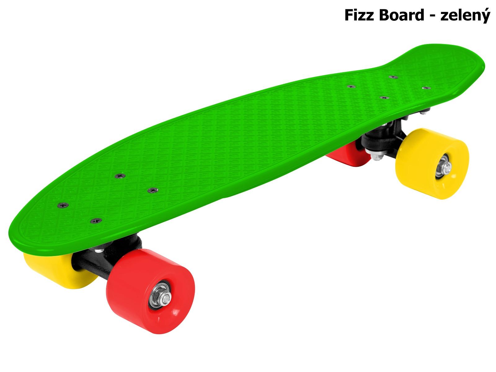 Skateboard STREET SURFING Fizz Board - zelený